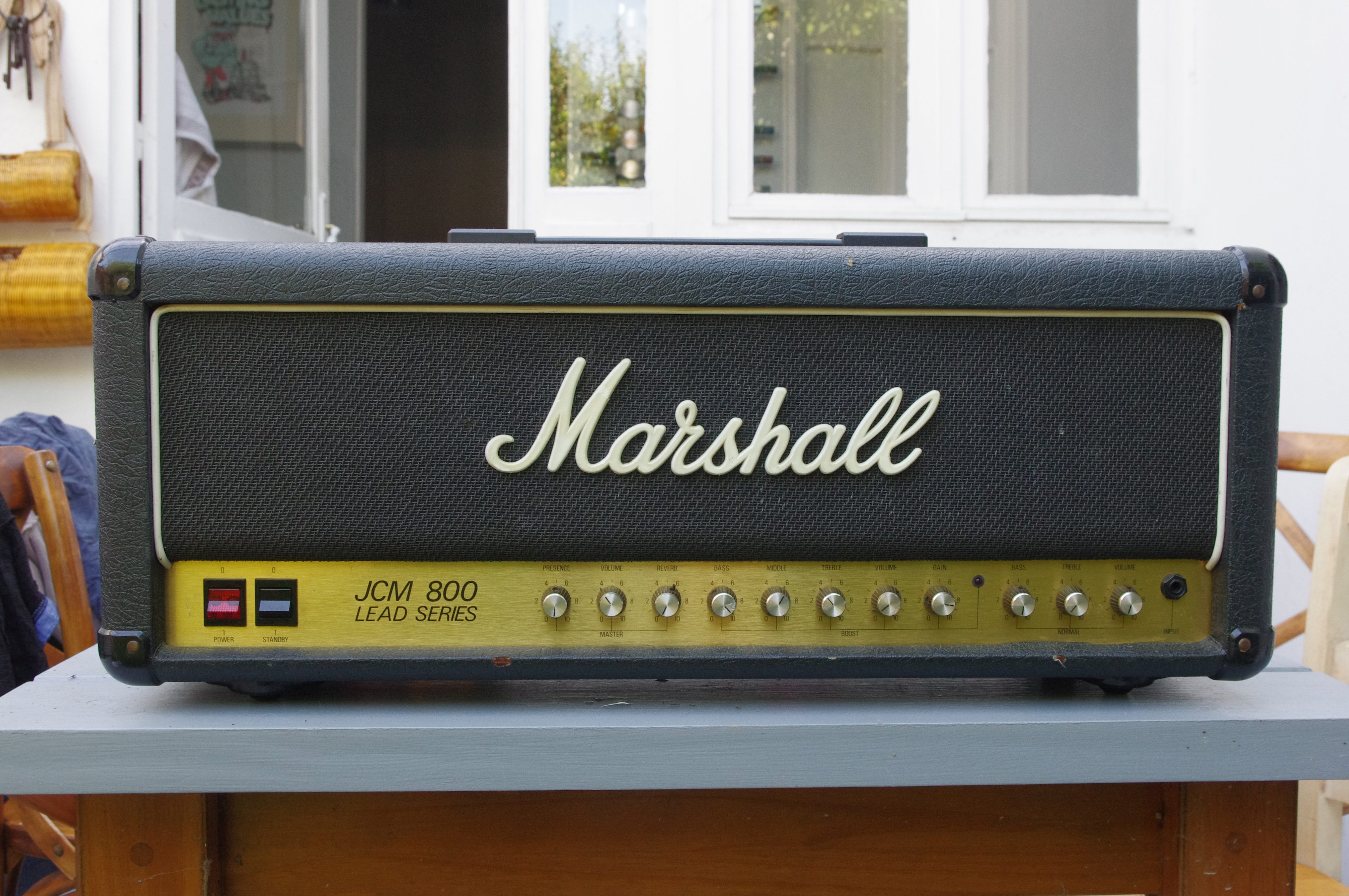 marshall 2205 jcm800 split channel reverb 1982 1989 image 706809 audiofanzine. Black Bedroom Furniture Sets. Home Design Ideas