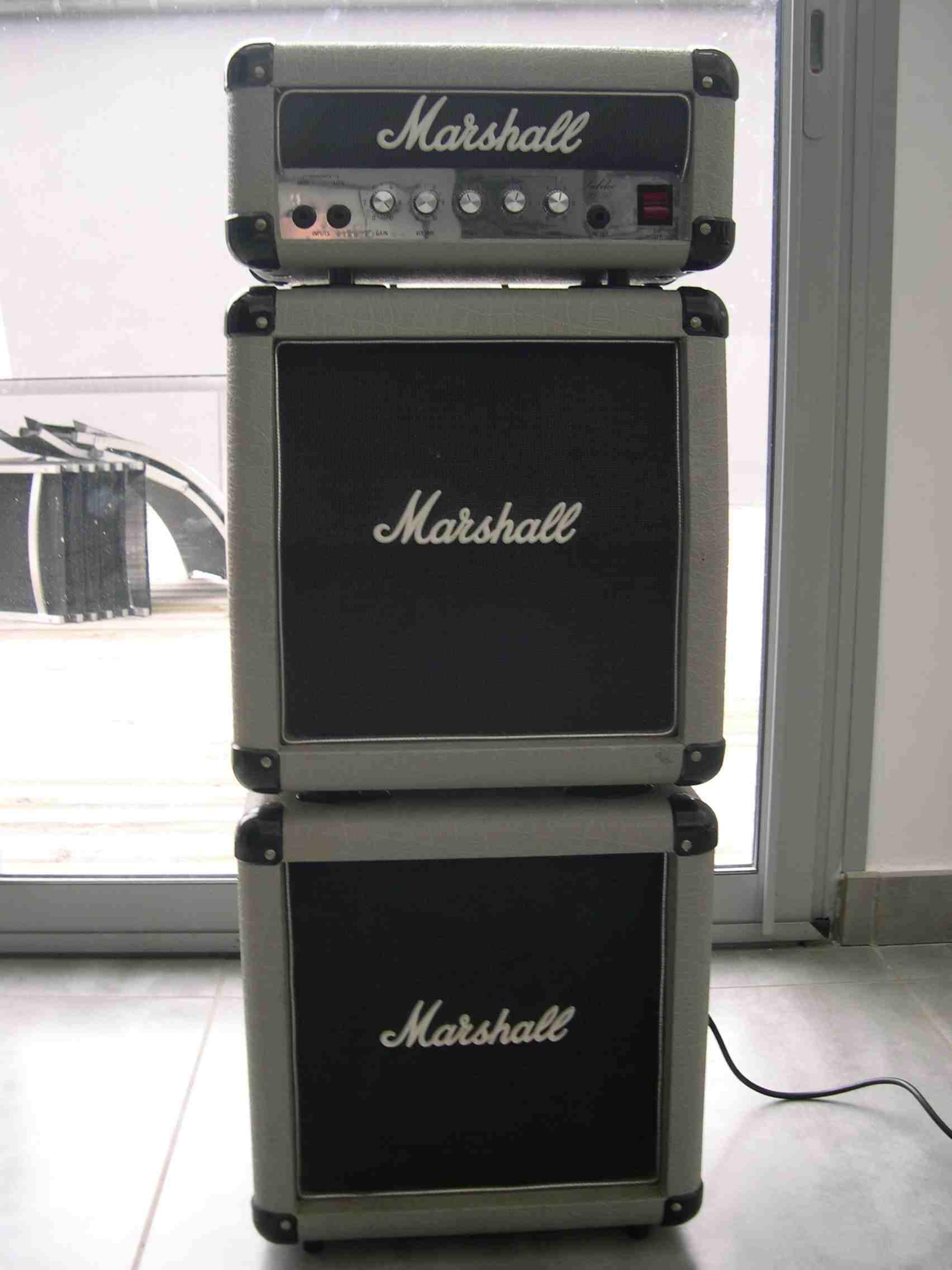 marshall 2553 silver jubilee mini stack 1987 image 714072 audiofanzine. Black Bedroom Furniture Sets. Home Design Ideas
