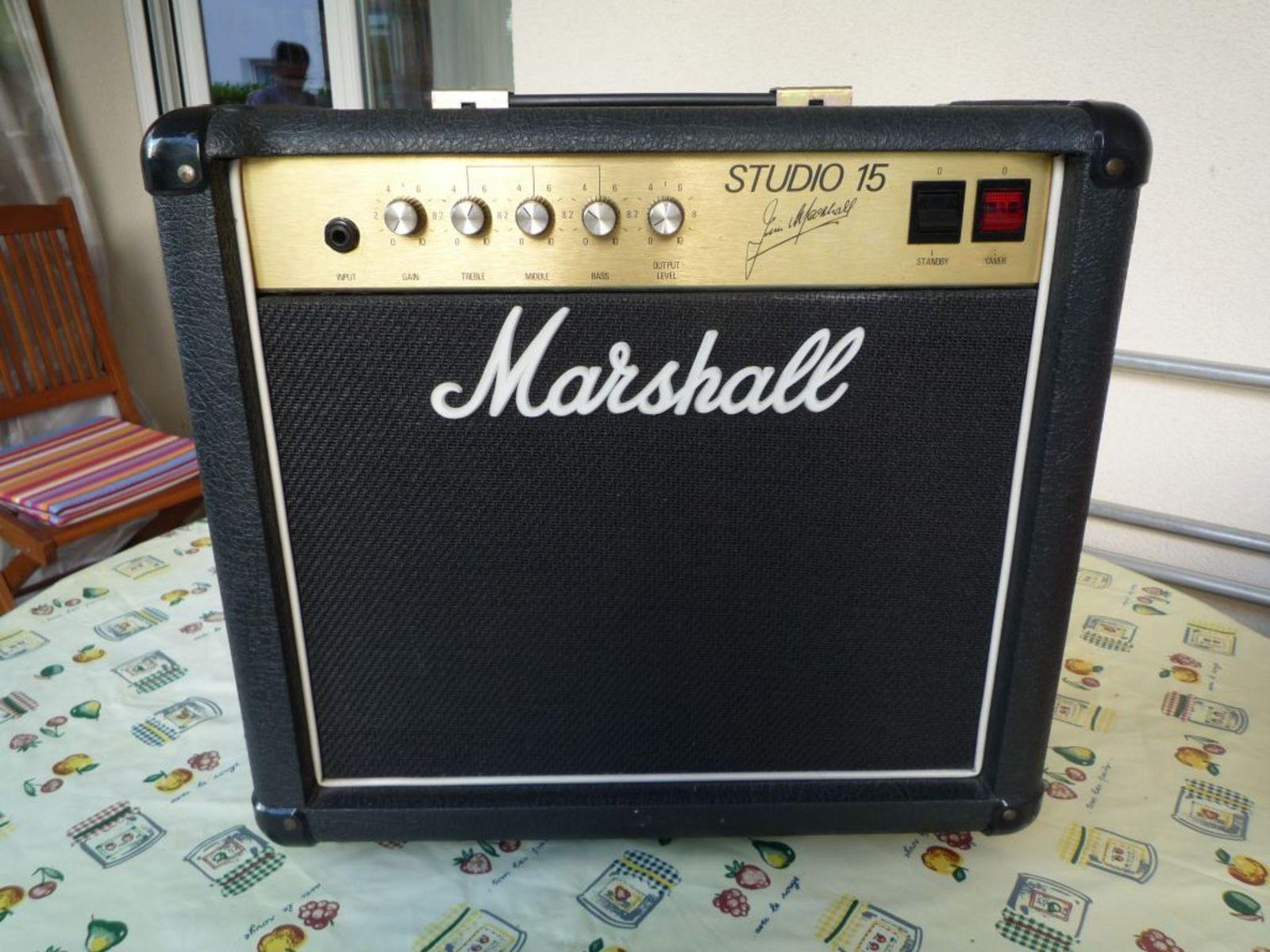 Marshall Studio 15 Combo Amplifier Vinyl Amp Cover