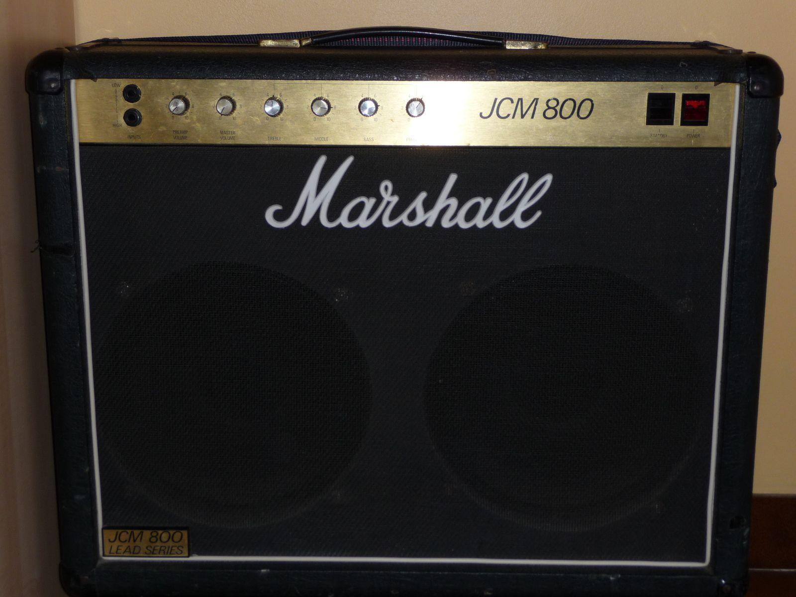 Marshall Jcm800 4104 2x12 Combo Amp Vinyl Amplifier Cover