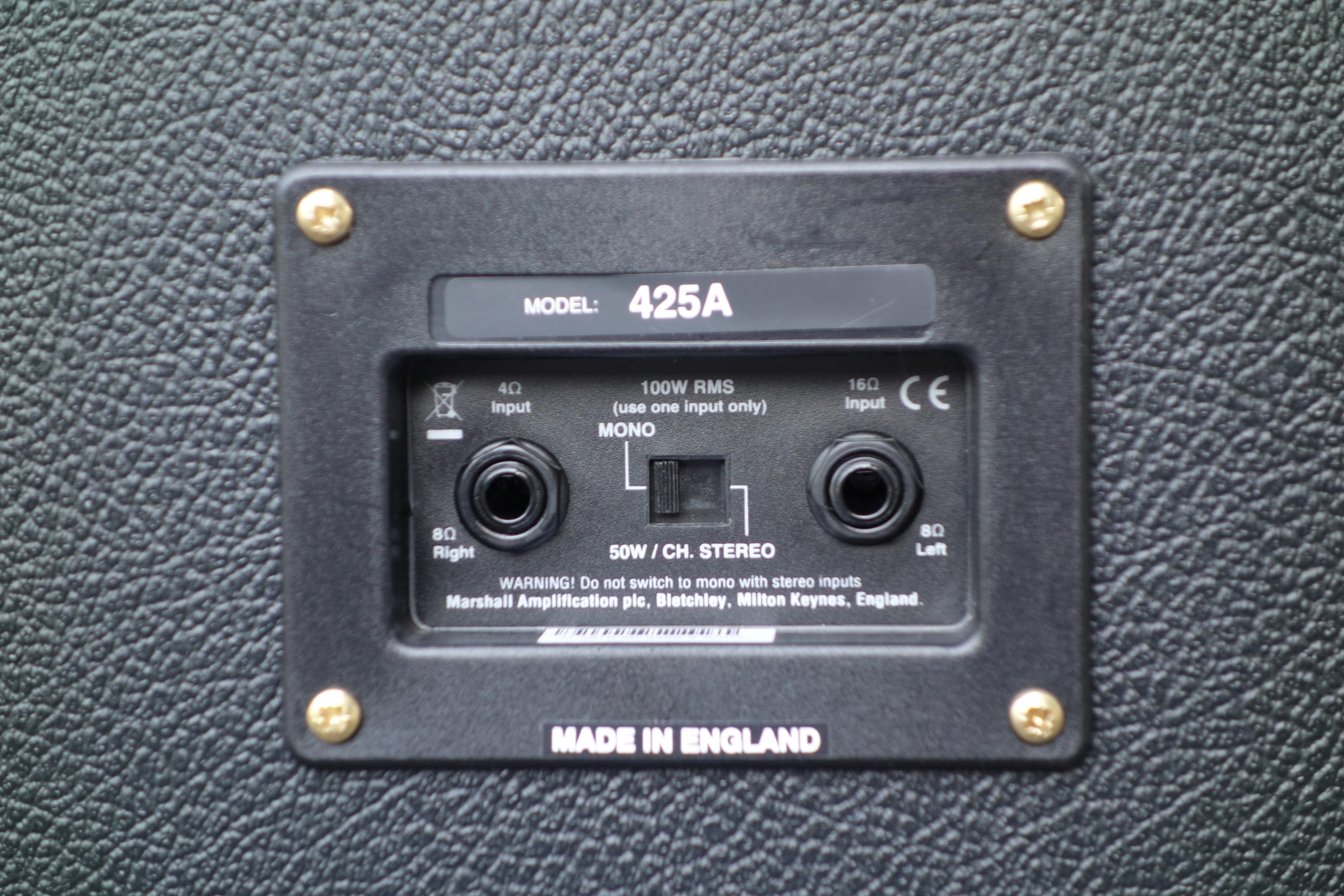 425a - Marshall 425a