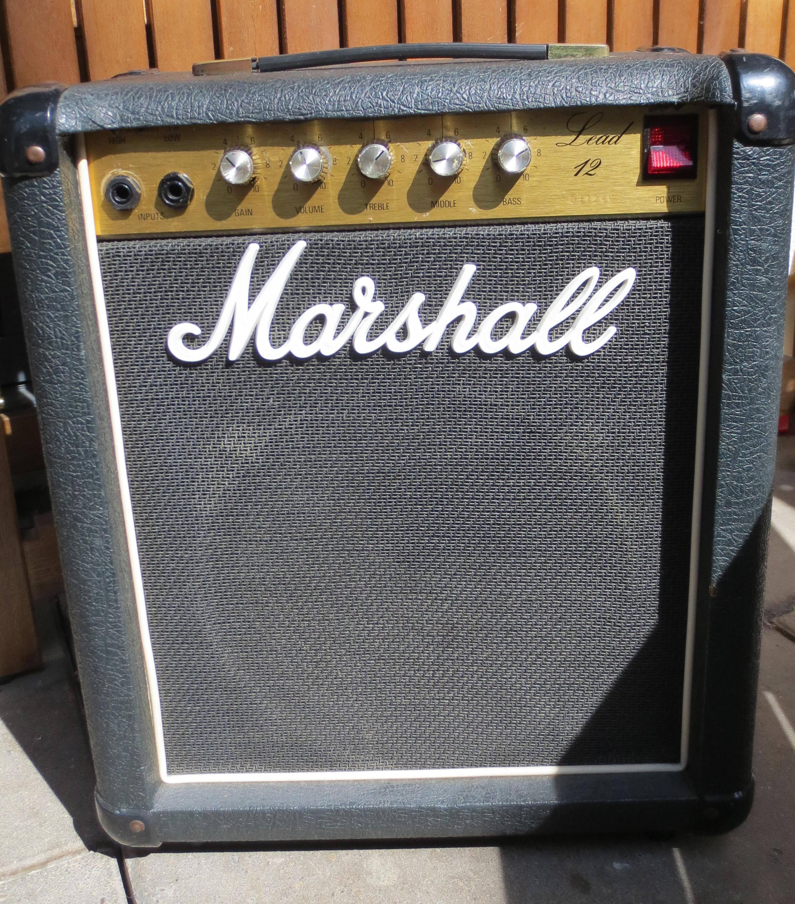 marshall 5005 lead 12 image 1100244 audiofanzine. Black Bedroom Furniture Sets. Home Design Ideas