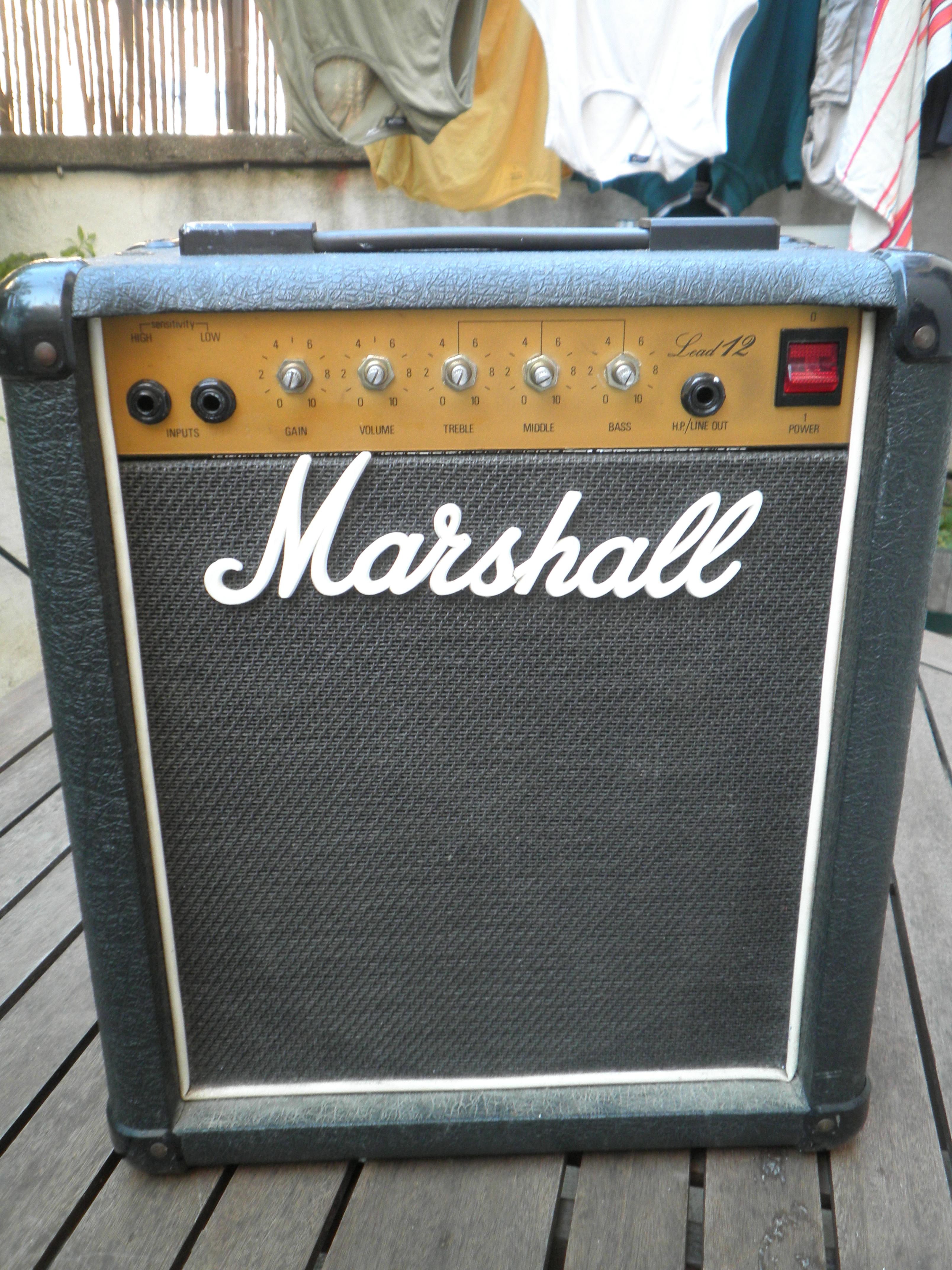 marshall 5005 lead 12 image 670107 audiofanzine. Black Bedroom Furniture Sets. Home Design Ideas