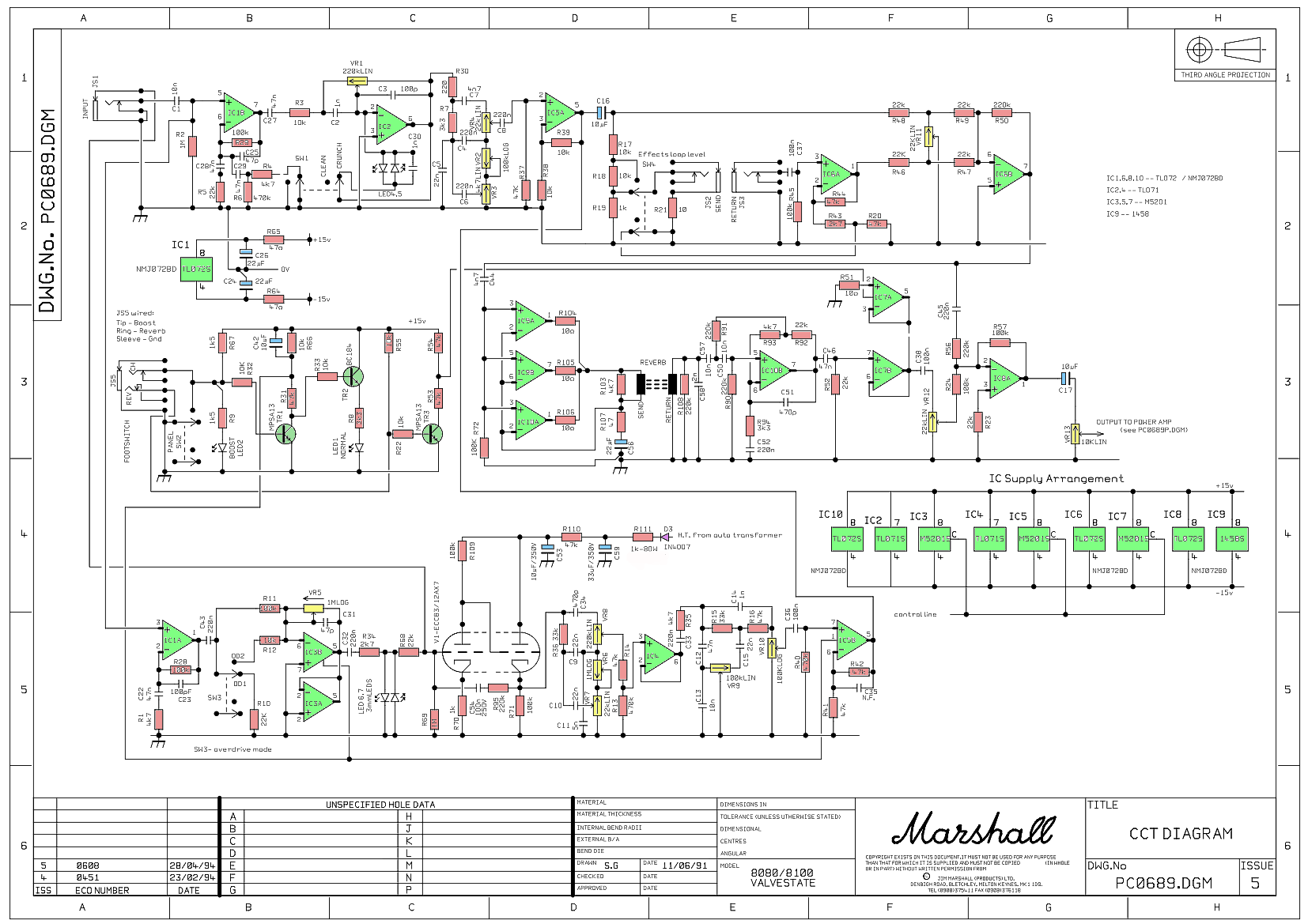 Marshall 8080 Wiring Diagram