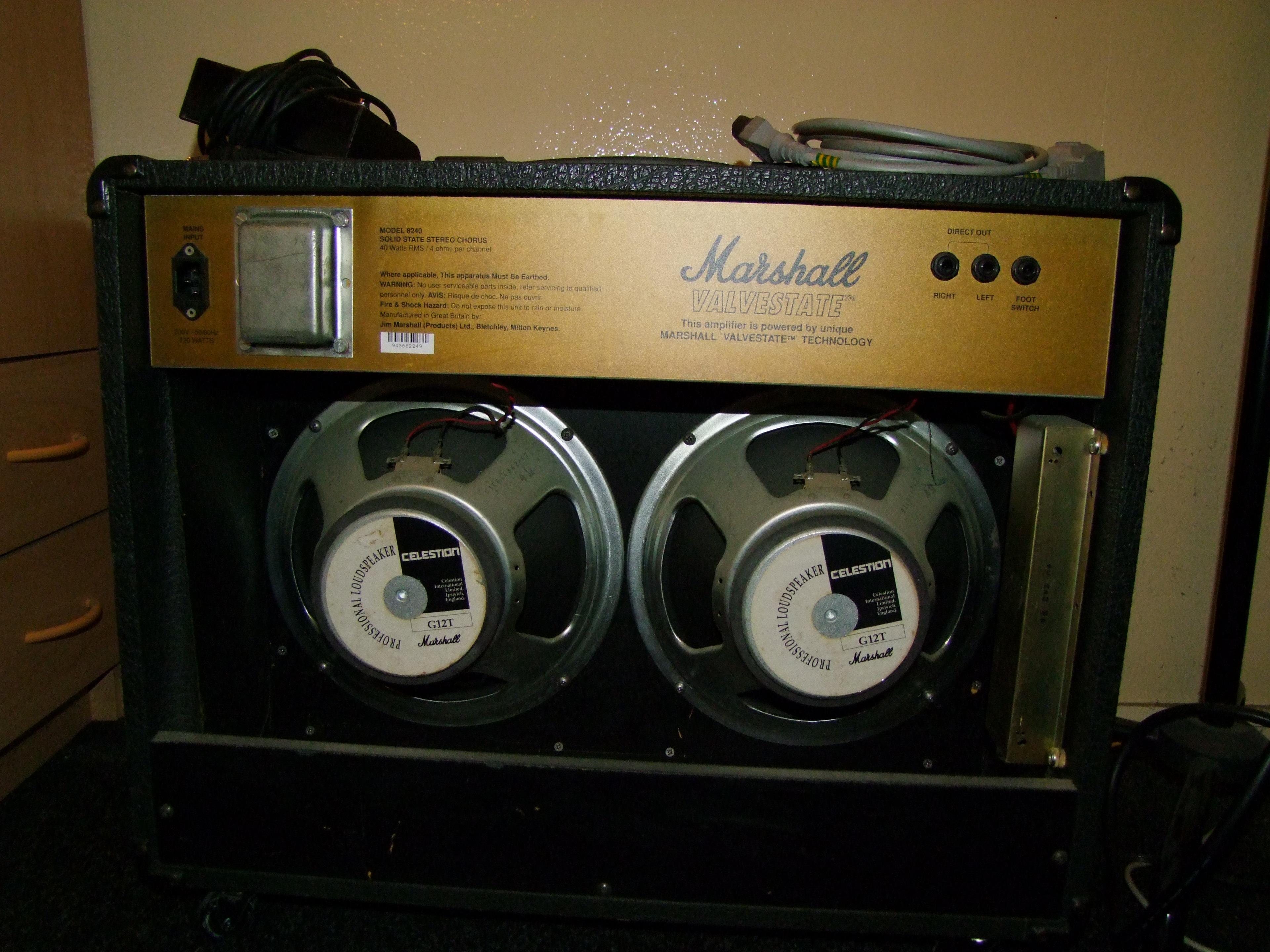 marshall 8240 valvestate s80 stereo chorus image 315865 rh en audiofanzine com Celestion Pokemon Celestion Speakers