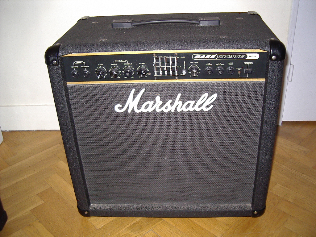 Marshall Bass Amps : marshall b65 image 265882 audiofanzine ~ Vivirlamusica.com Haus und Dekorationen