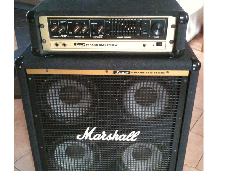 [ IMG] - My Latest Marshall Bass Rig The Gear Page