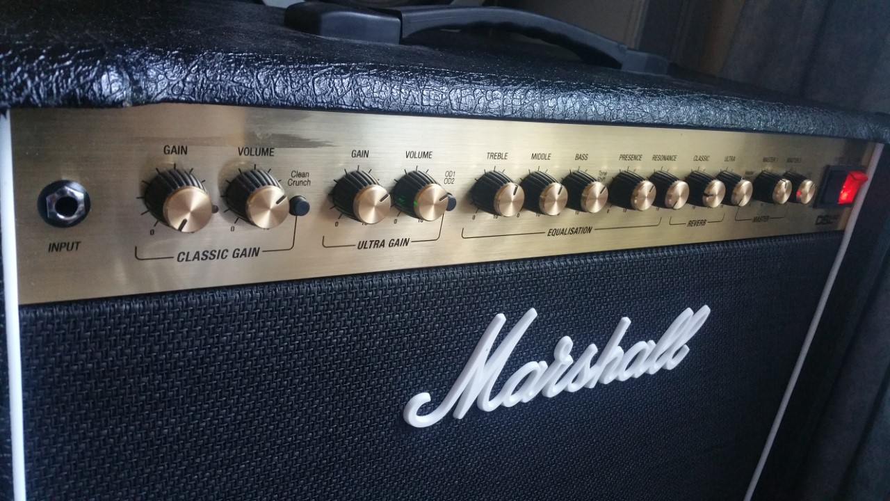 Marshall Dsl 40C Clean Channel — Totoku