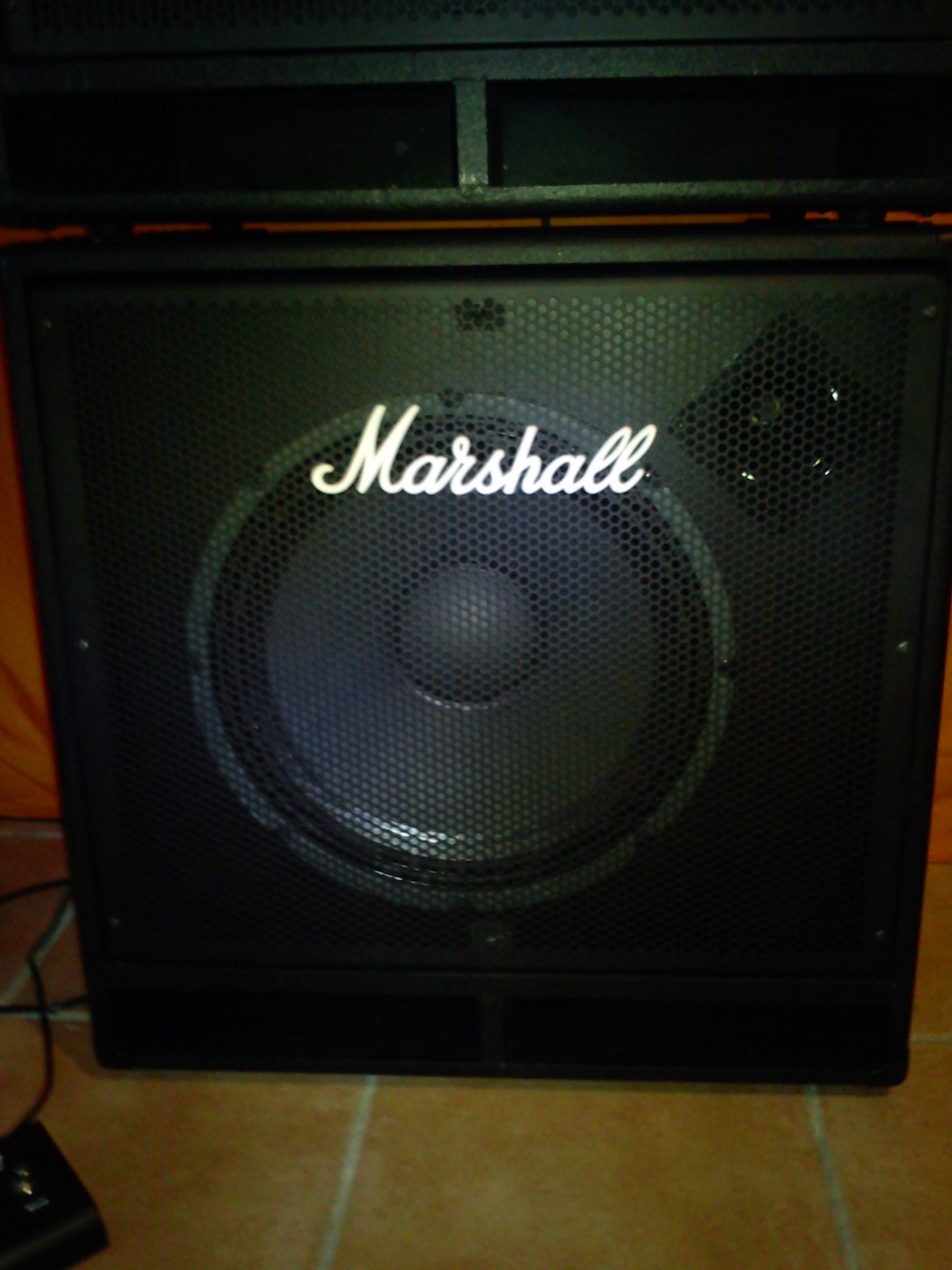 Photo Marshall MB450H : Marshall [MB Series] MB450H ...