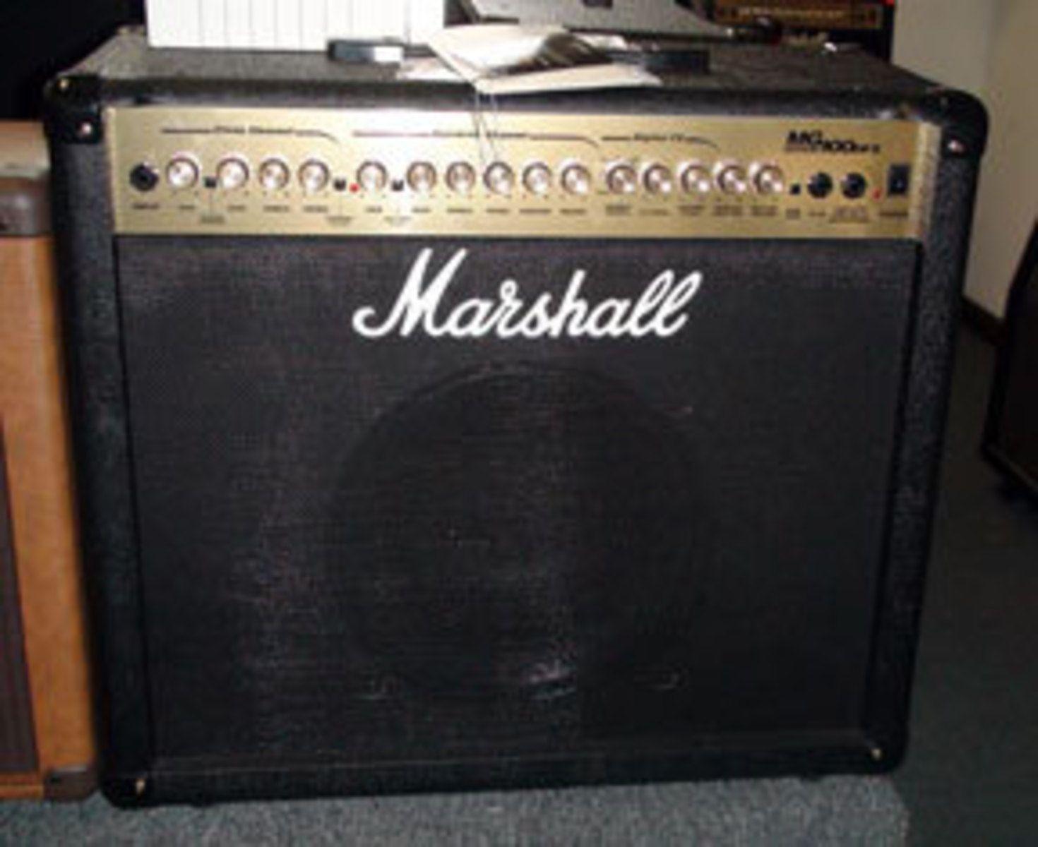 marshall mg100dfx image 13563 audiofanzine. Black Bedroom Furniture Sets. Home Design Ideas