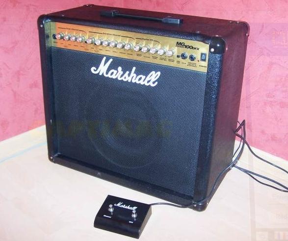 marshall mg100dfx image 654906 audiofanzine. Black Bedroom Furniture Sets. Home Design Ideas