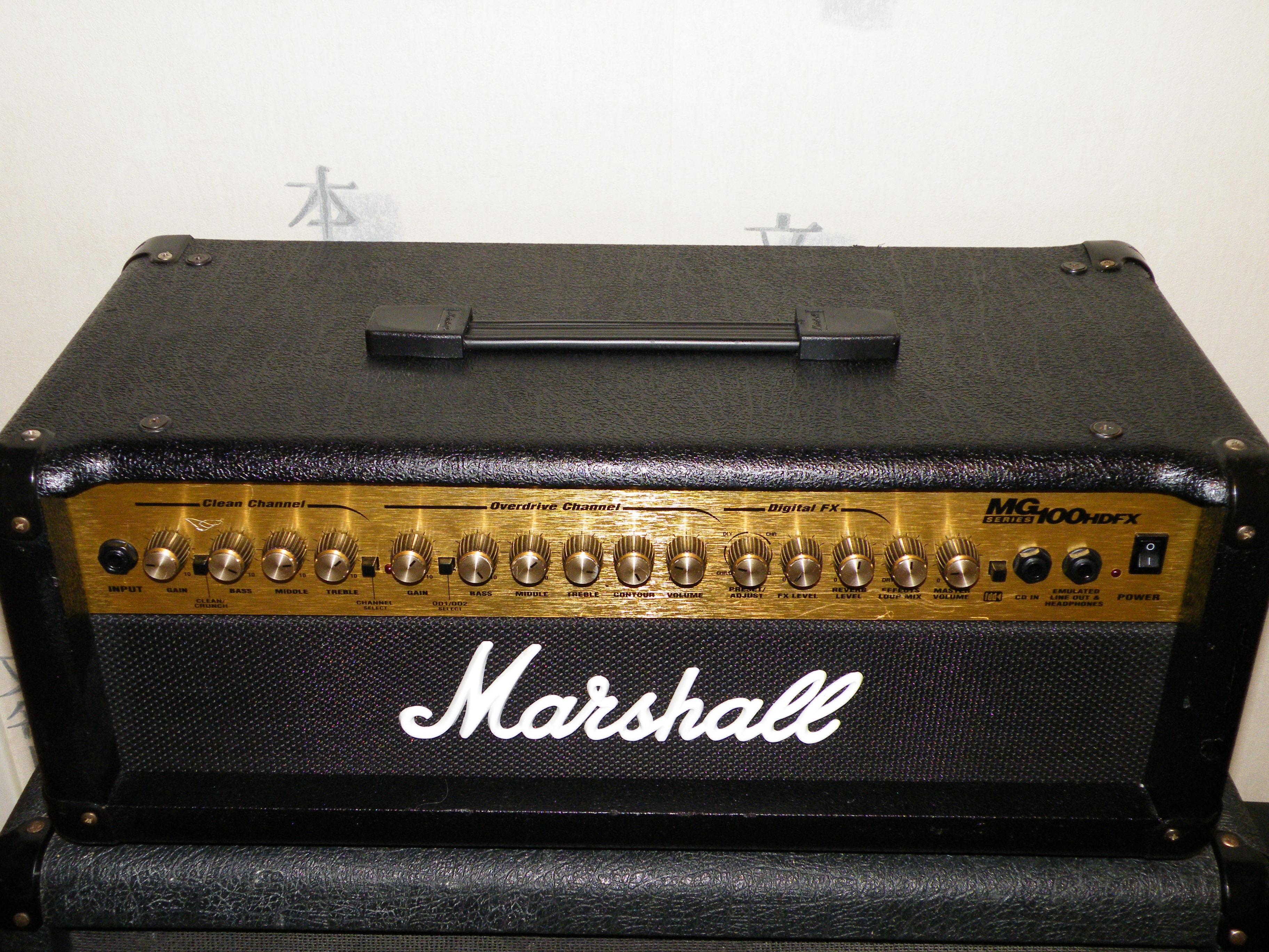 Marshall MG100HDFX Head - Reviews Marshall MG100HDFX ...