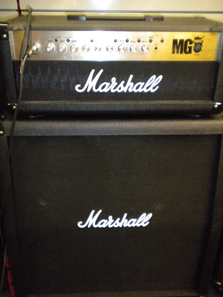 Marshall Mg100hdfx Image   97916