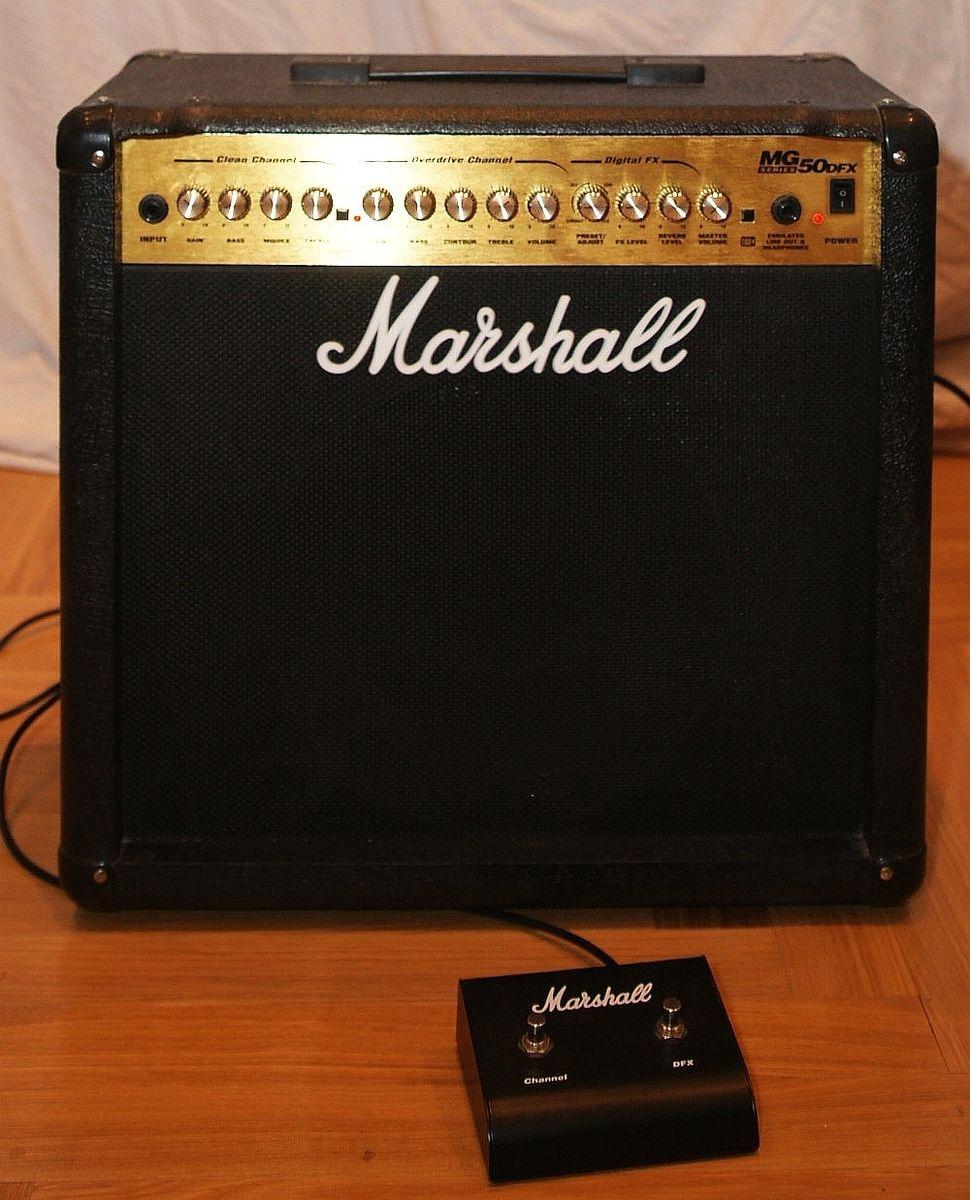Marshall Mg50dfx Image   196472