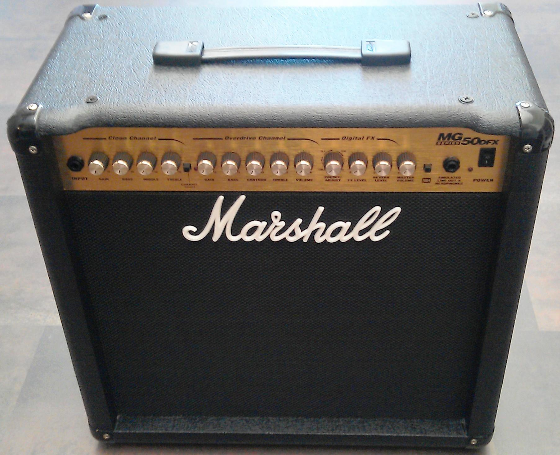 Marshall Mg50dfx Image 340757 Audiofanzine