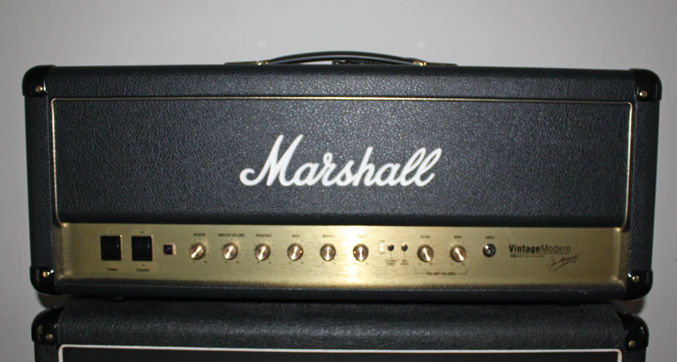Photo marshall vintage modern 2266h marshall vintage modern series