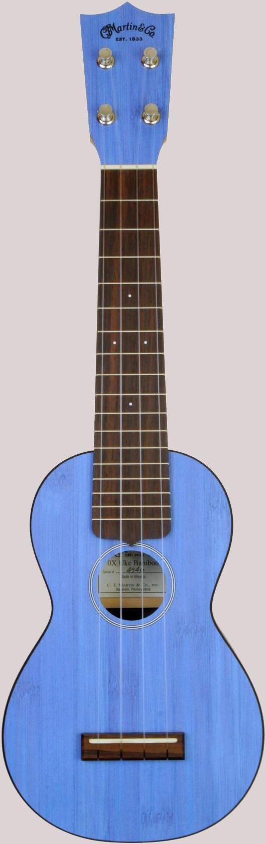 Mexican Martin 0 xb bamboo soprano ukulele