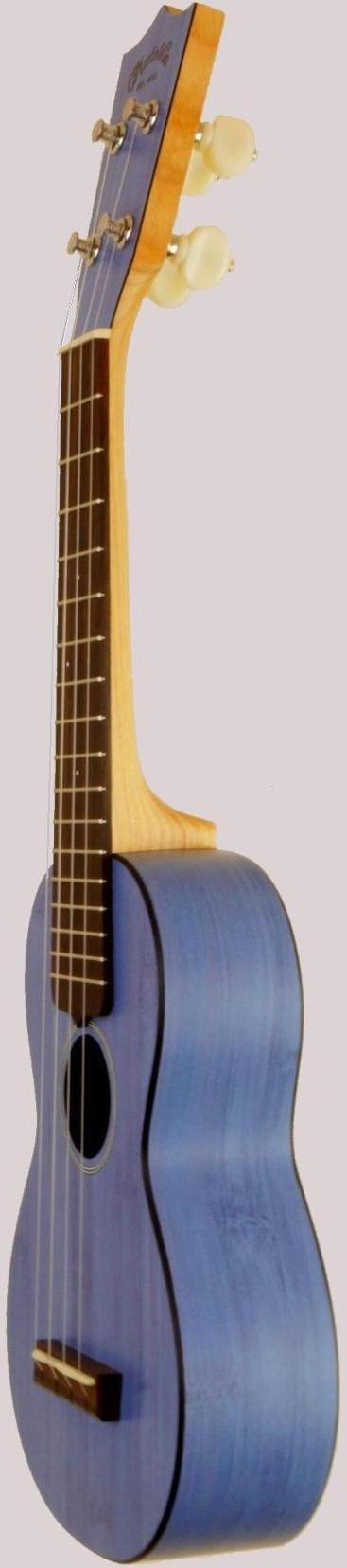 Martin blue bamboo soprano ukulele