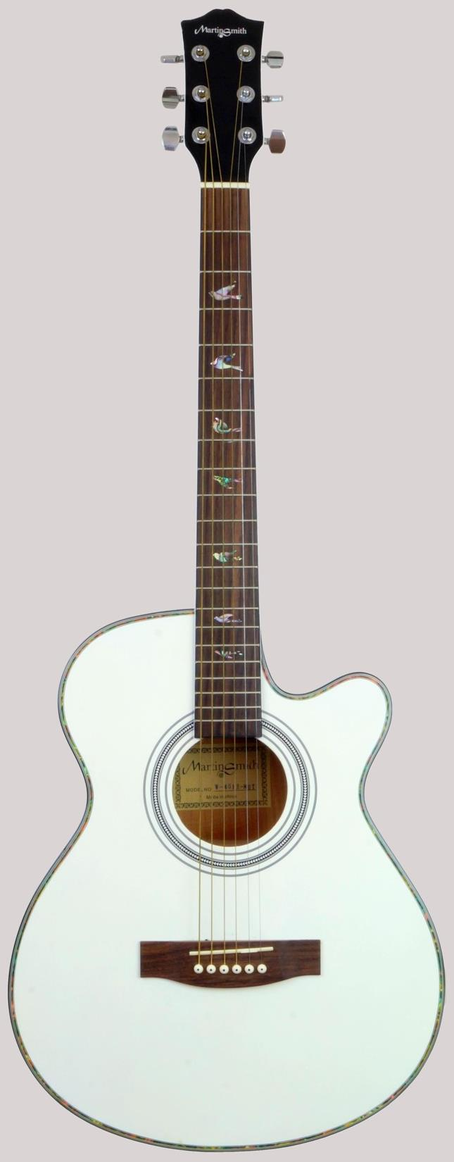Martin Smith Cutaway Electro-Acoustic Guitar