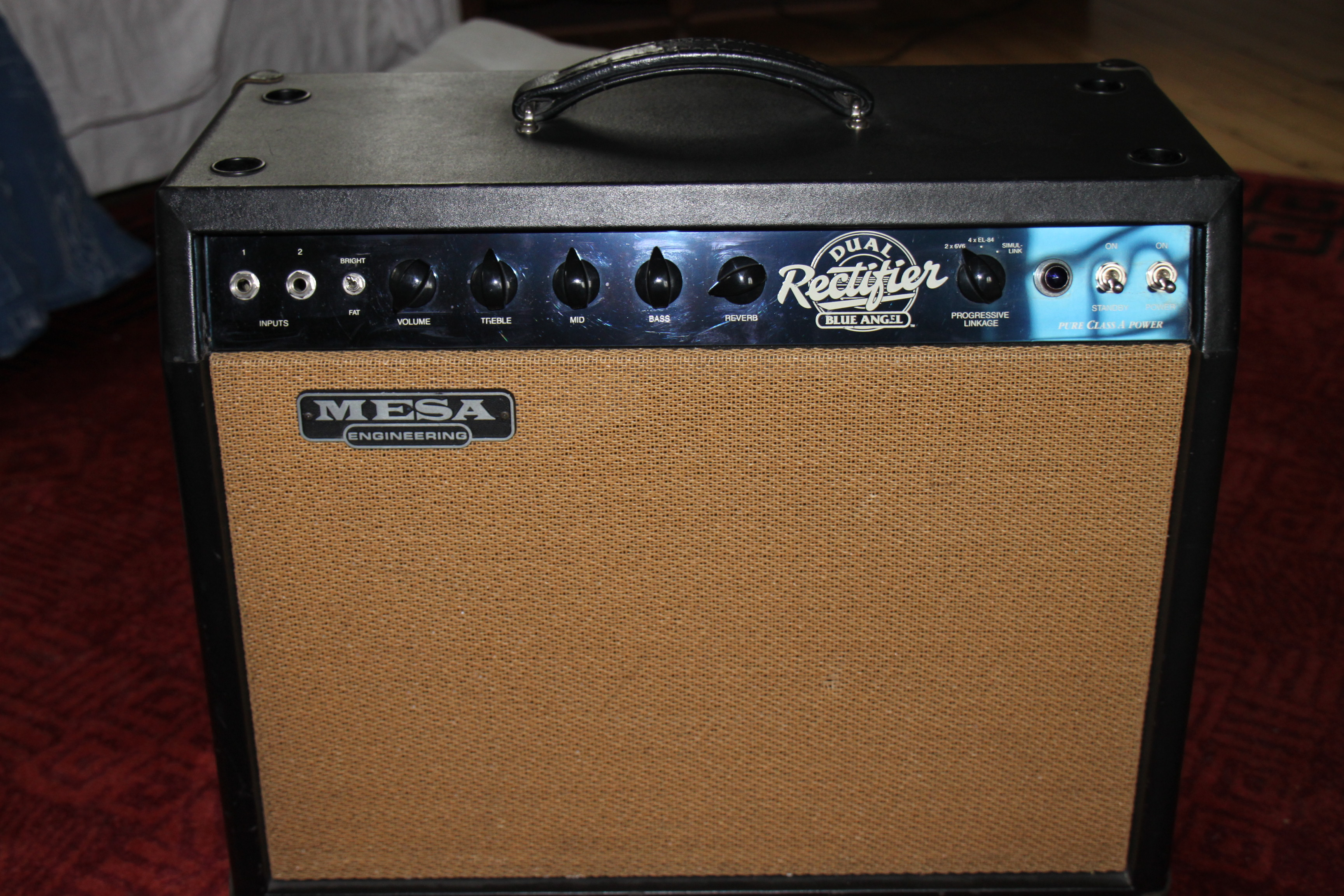 Mesa boogie blue angel 1x12 combo image 340387 for Mesa boogie blue angel