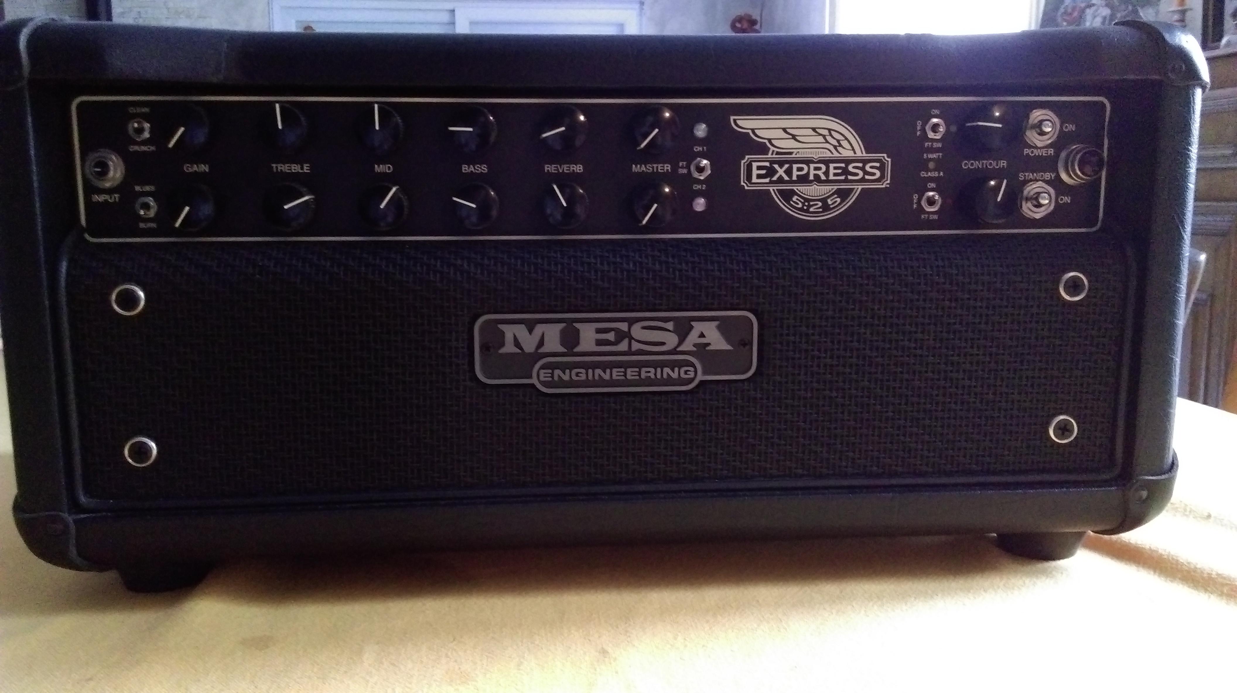 Mesa boogie express 5 25 head image 1481145 audiofanzine for Mesa boogie express 5 25