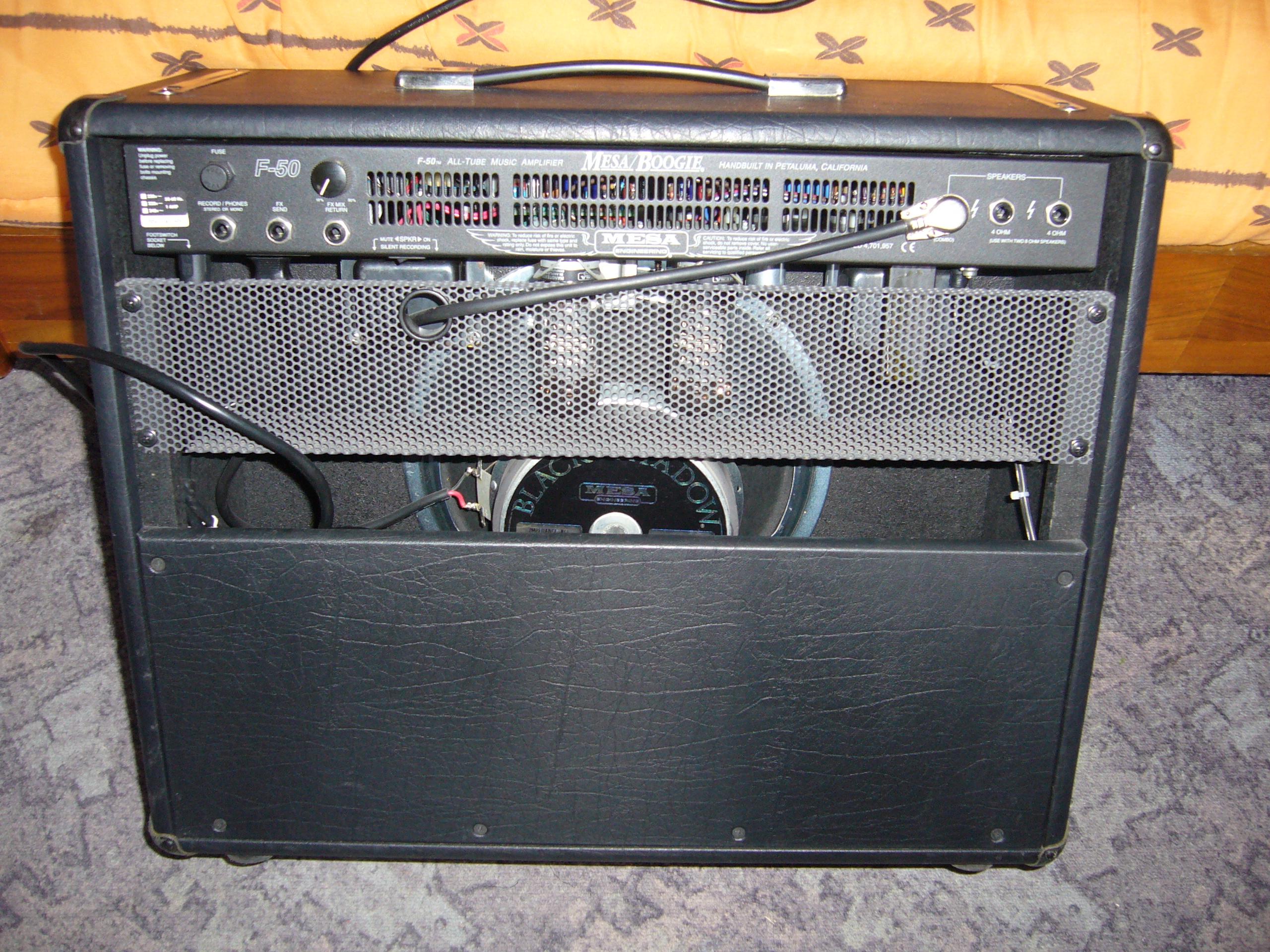 mesa boogie f50 1x12 combo image 303944 audiofanzine