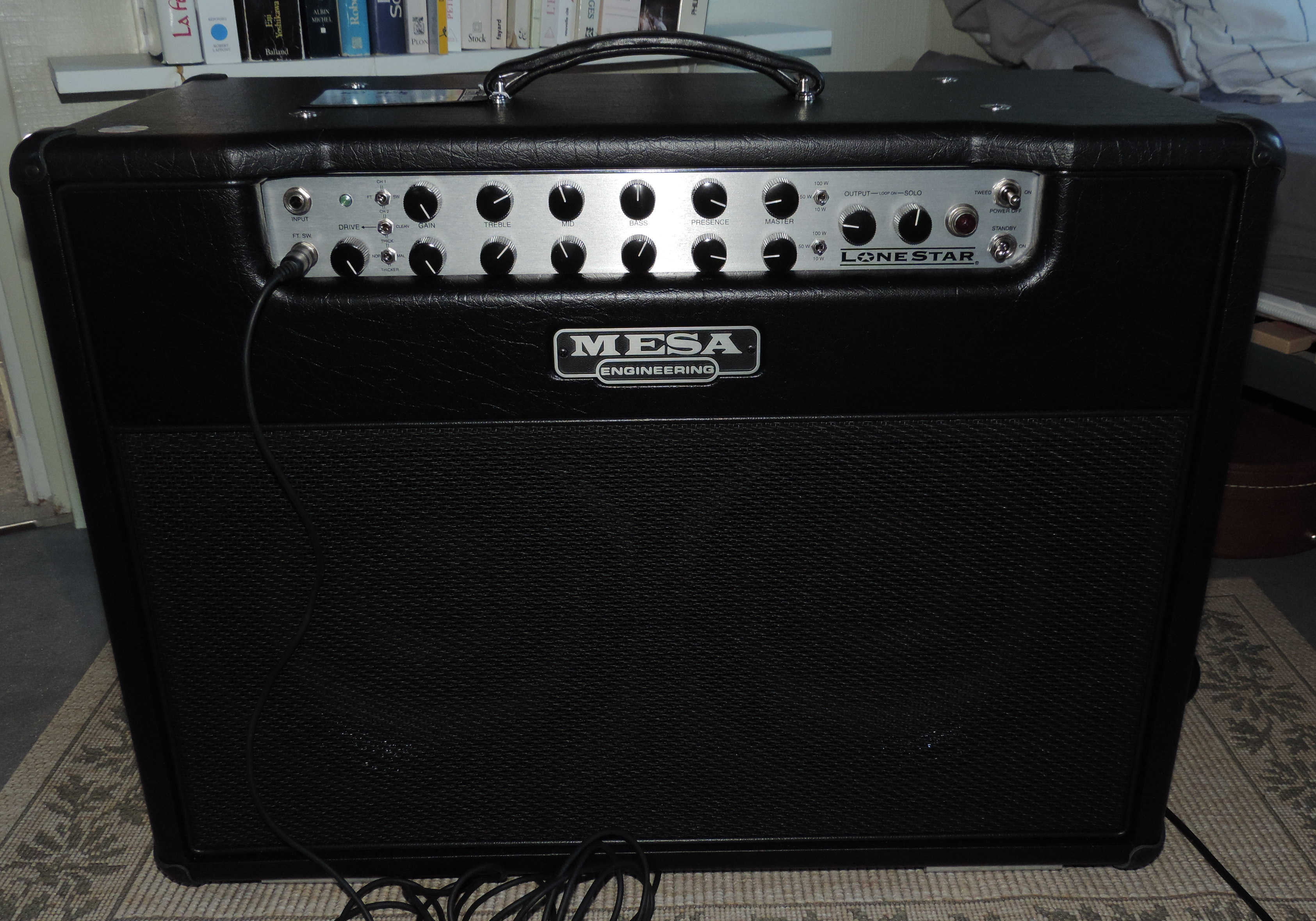 Mesa boogie lone star 2x12 combo image 967325 for Mesa boogie lonestar 2x12