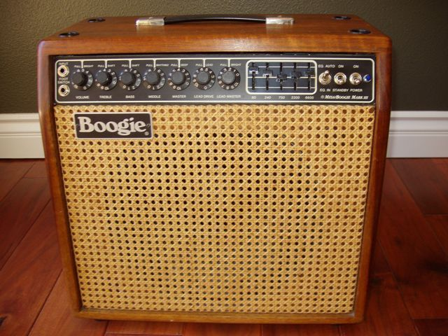photo mesa boogie mark iii combo hardwood mesa boogie