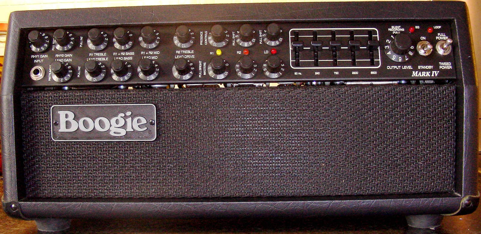 mesa boogie mark iv head image 179937 audiofanzine
