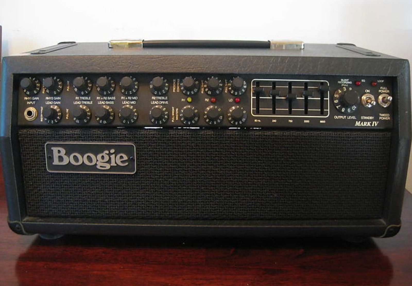 mesa boogie mark iv amp head vinyl amplifier cover