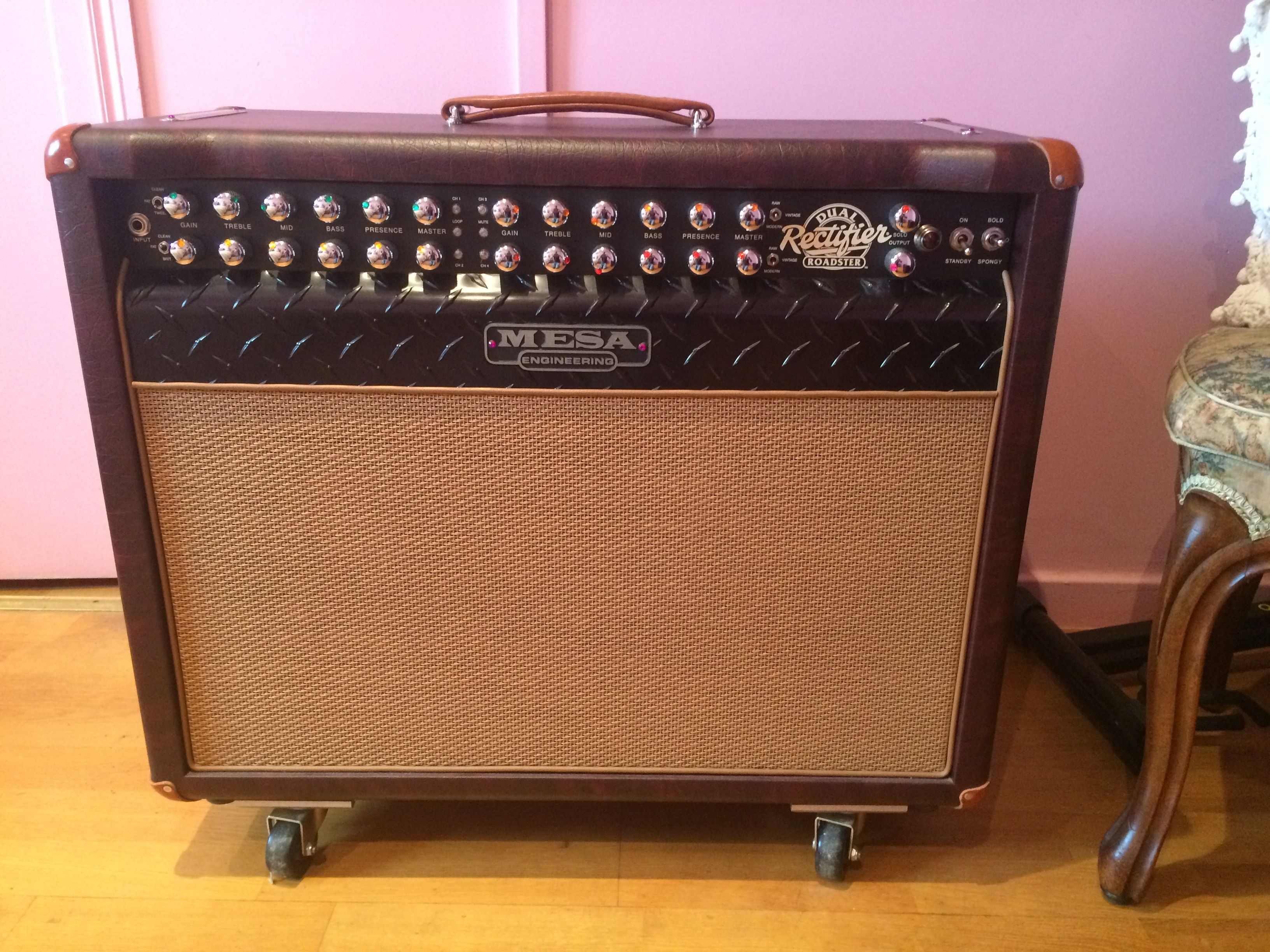 Roadster 1x12 combo mesa boogie roadster 1x12 combo for Mesa boogie blue angel