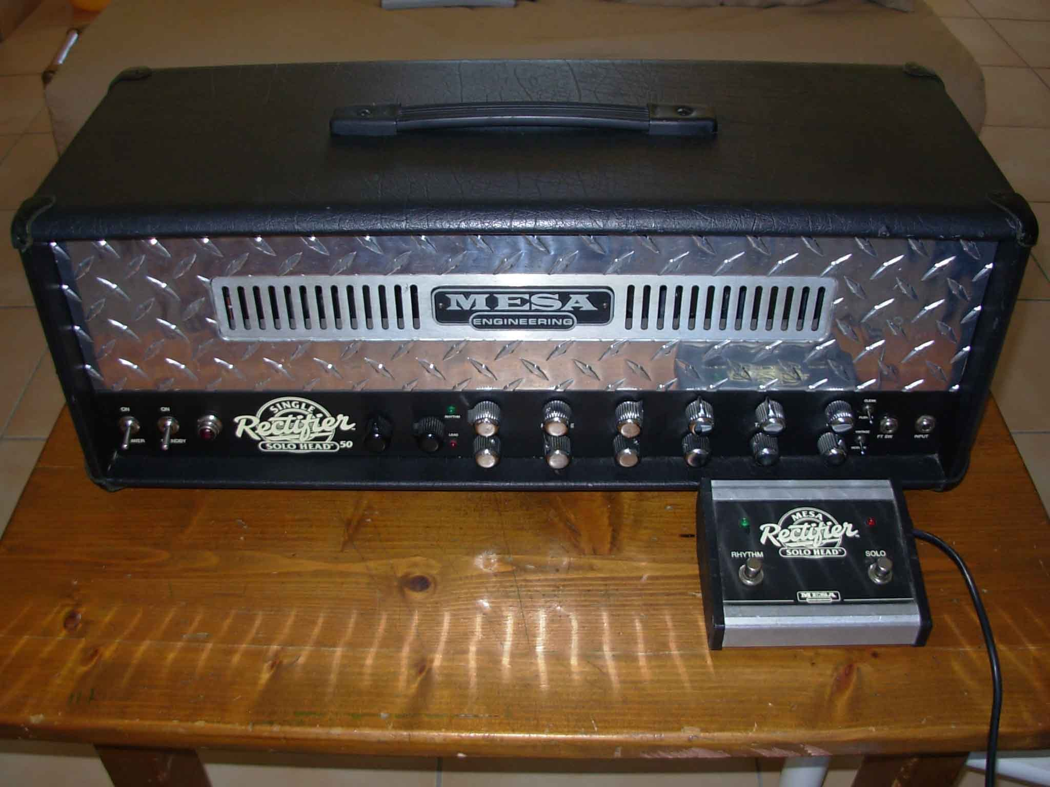 mesa boogie single rectifier solo head image 113426
