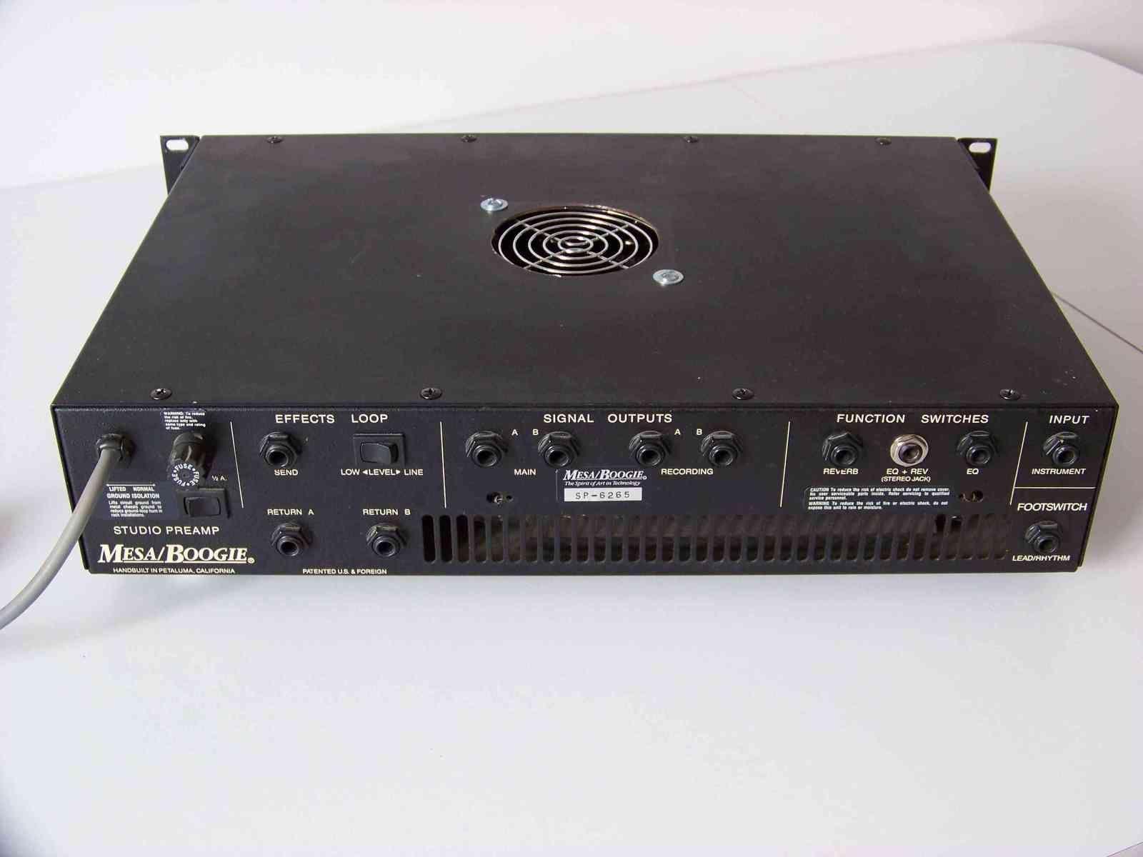 Mesa boogie studio preamp conectarlo a un tarjeta de for Amplificadores mesa boogie