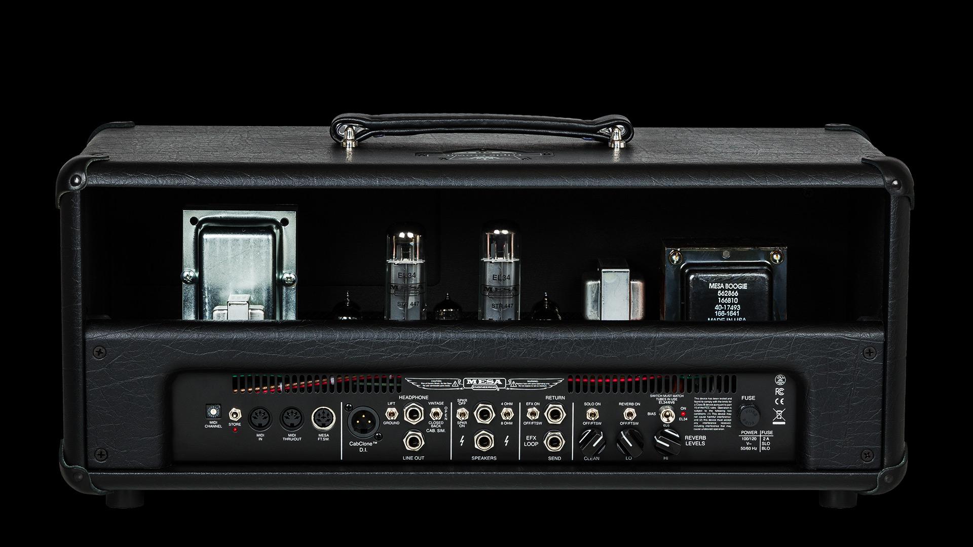 mesa boogie triple crown tc 50 head image 1612469 audiofanzine. Black Bedroom Furniture Sets. Home Design Ideas