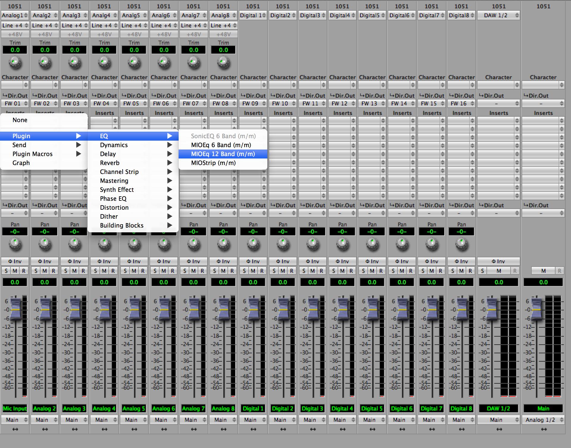 Virtual Mixer Software Metric Halo Uln