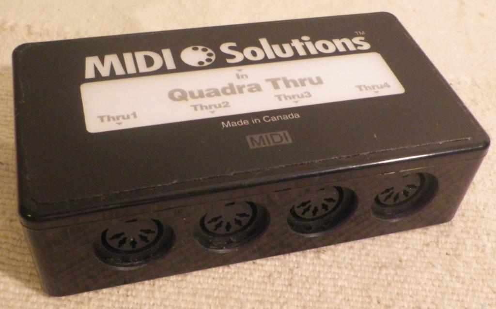 Midi Solutions Quadra Thru : photo midi solutions quadra thru midi solutions quadra thru 85950 180004 audiofanzine ~ Hamham.info Haus und Dekorationen