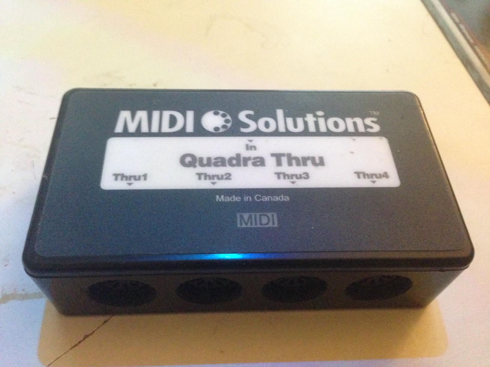 Midi Solutions Quadra Thru : photo midi solutions quadra thru midi solutions quadra thru 37012 821572 audiofanzine ~ Hamham.info Haus und Dekorationen