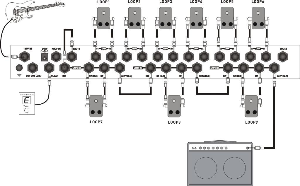 moen gec9 guitar effect controller image 257914 audiofanzine. Black Bedroom Furniture Sets. Home Design Ideas