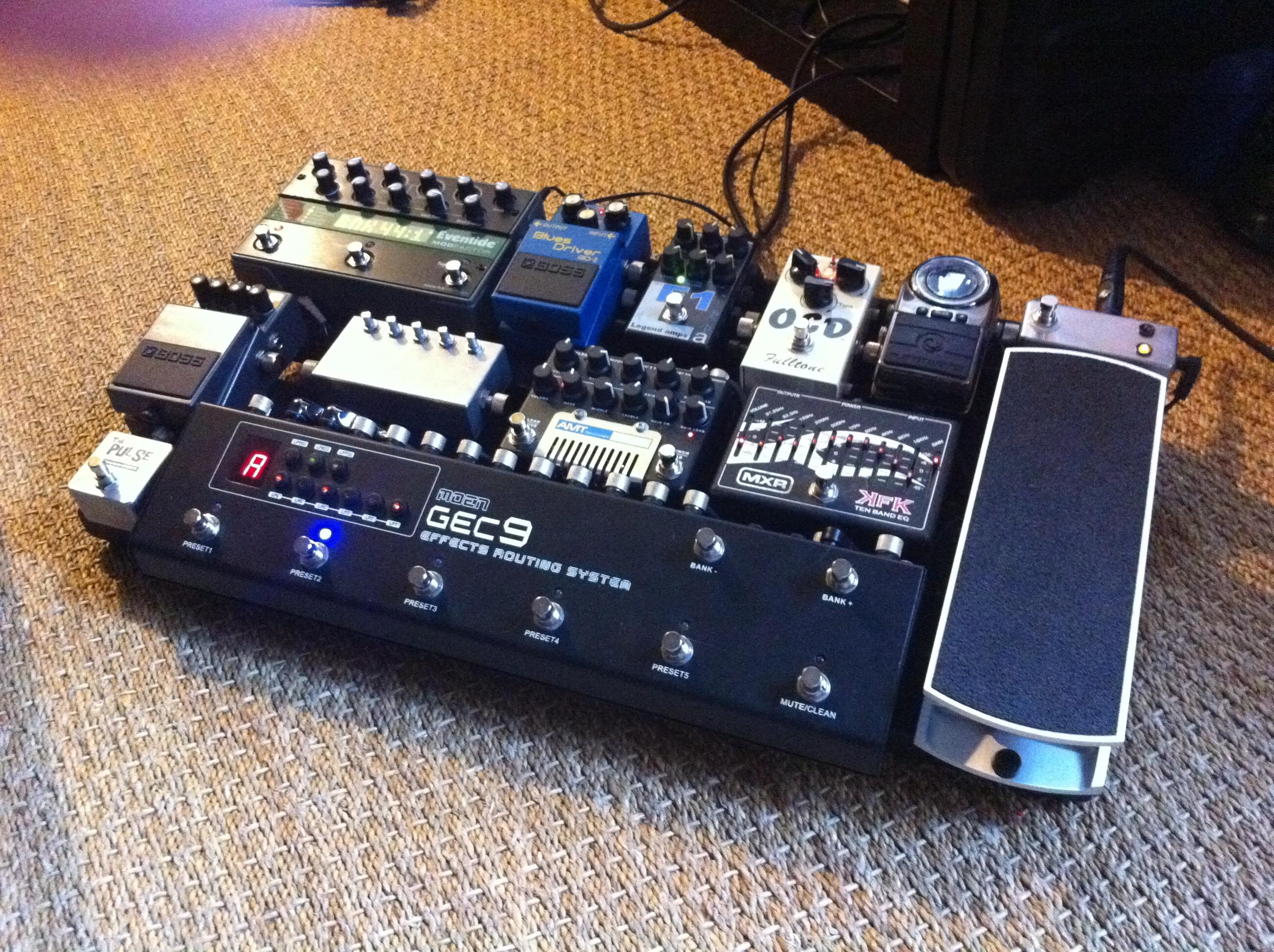 moen gec9 guitar effect controller image 326480 audiofanzine. Black Bedroom Furniture Sets. Home Design Ideas