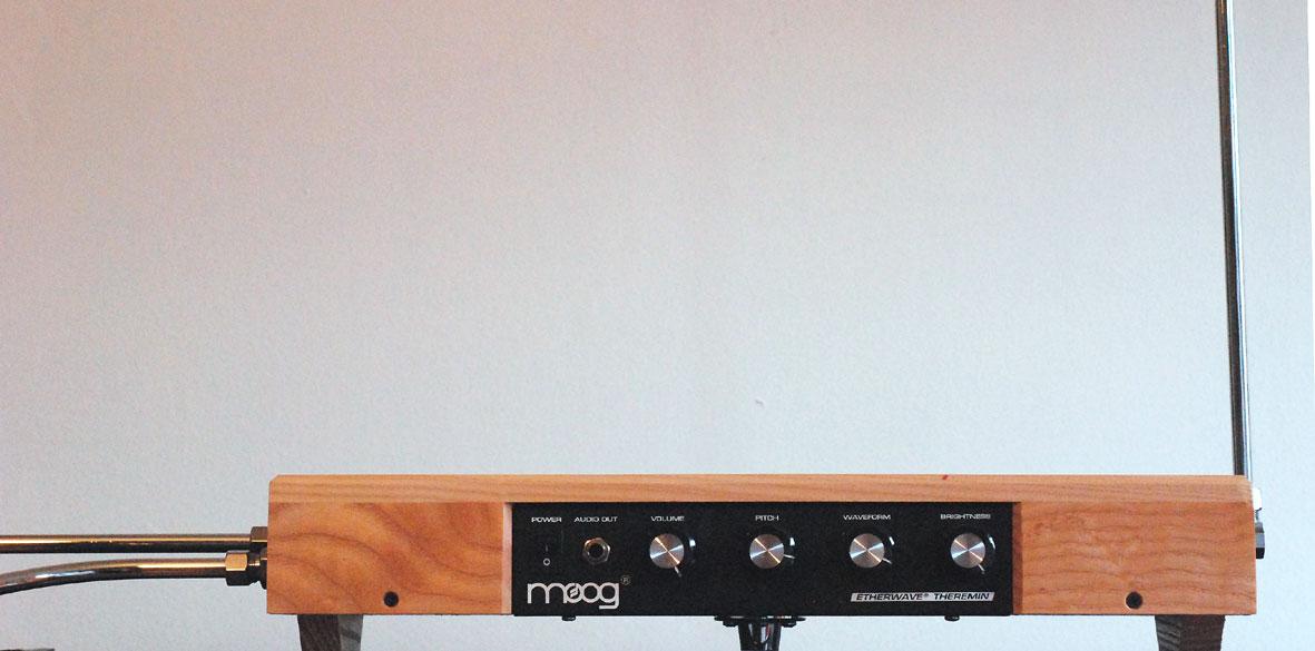 Moog Etherwave Standard Theremin - Ash | Sweetwater