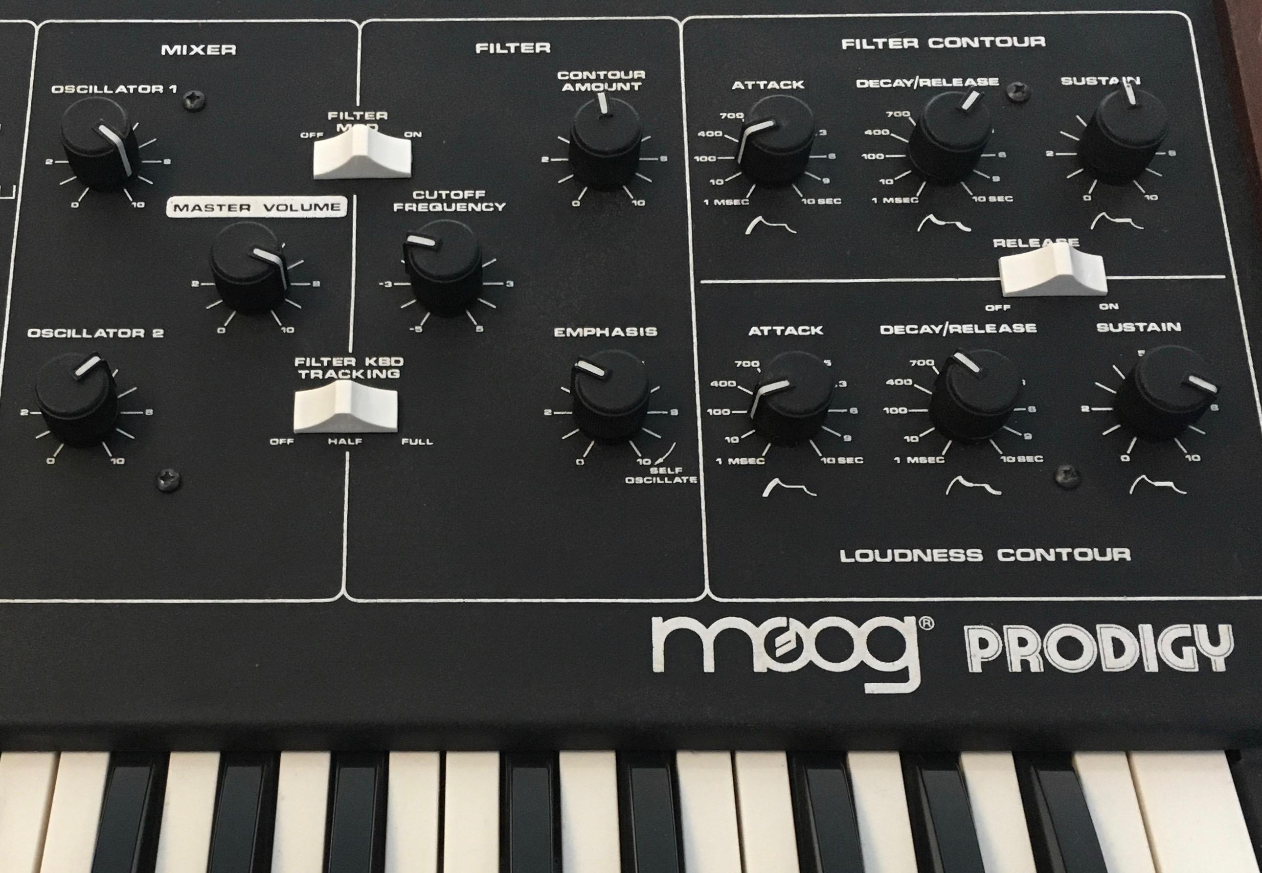 prodigy moog music prodigy audiofanzine Moog Minitmoog Moog Synth