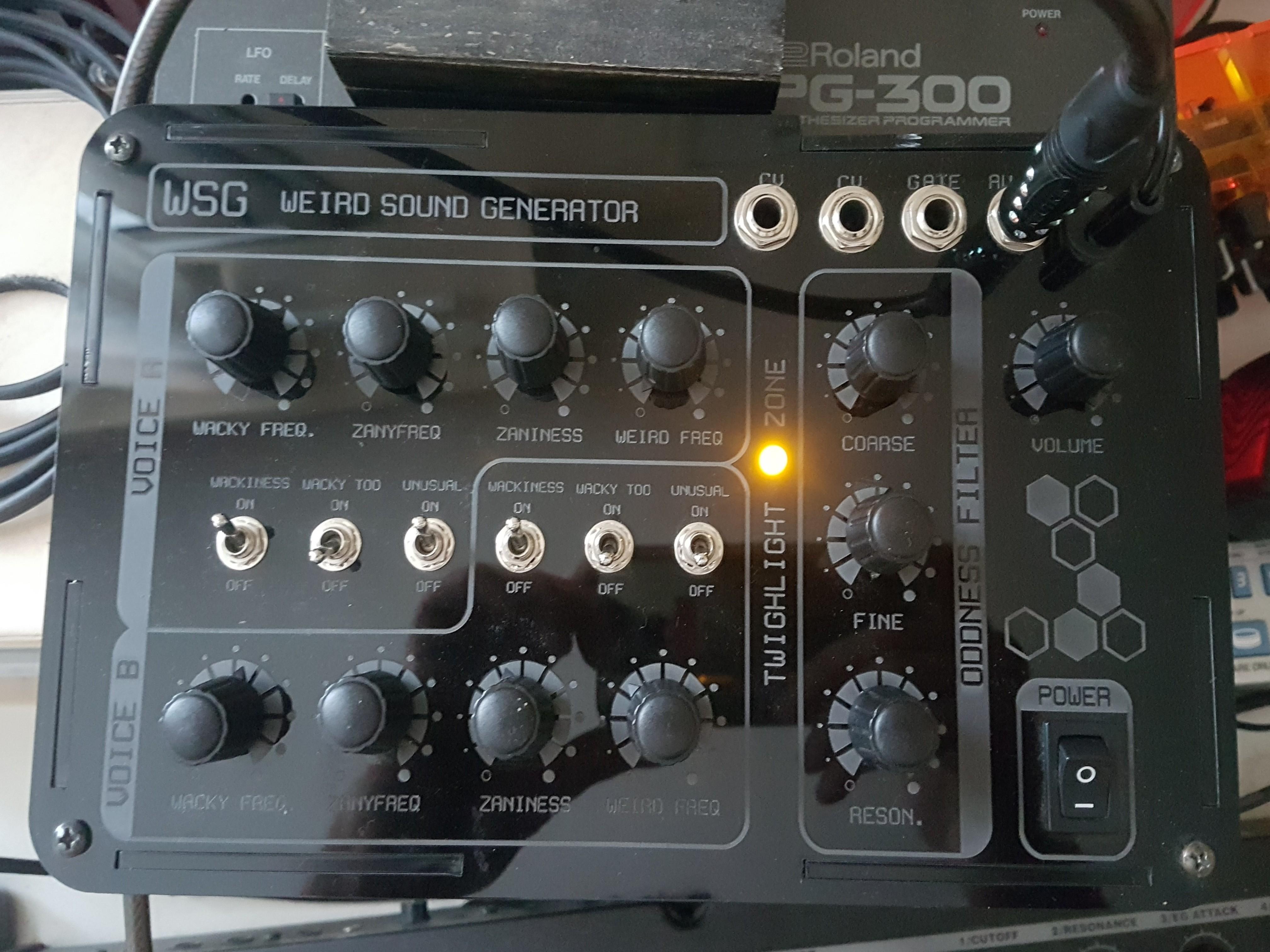 Weird Sound Generator (WSG)