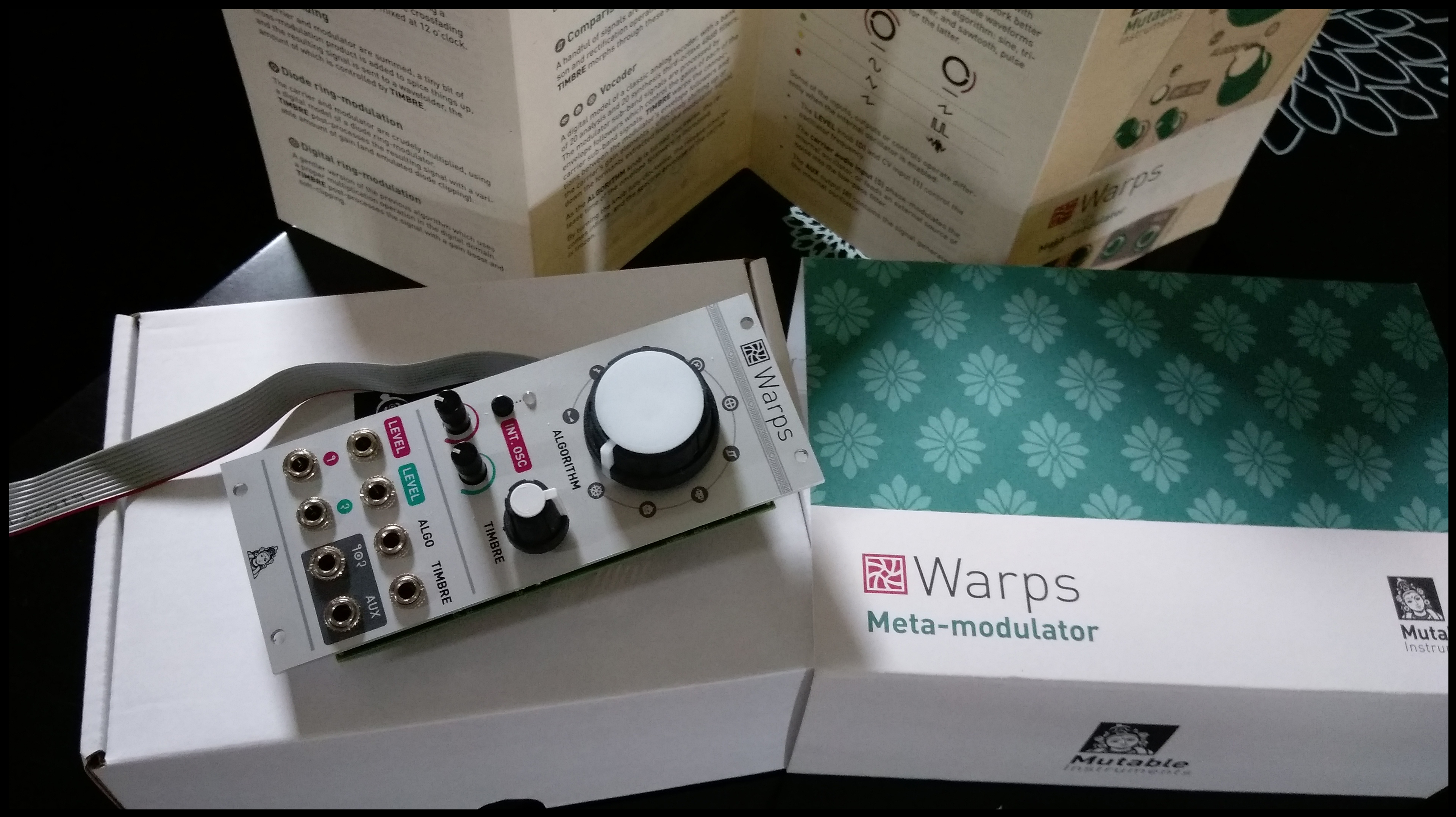 warps - mutable instruments warps