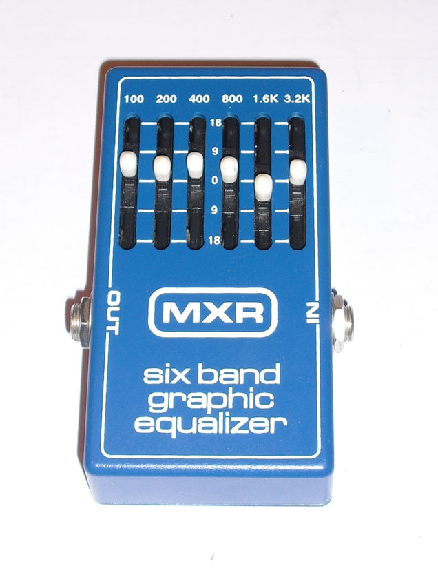 mxr m109 6 band graphic eq vintage image 95130 audiofanzine
