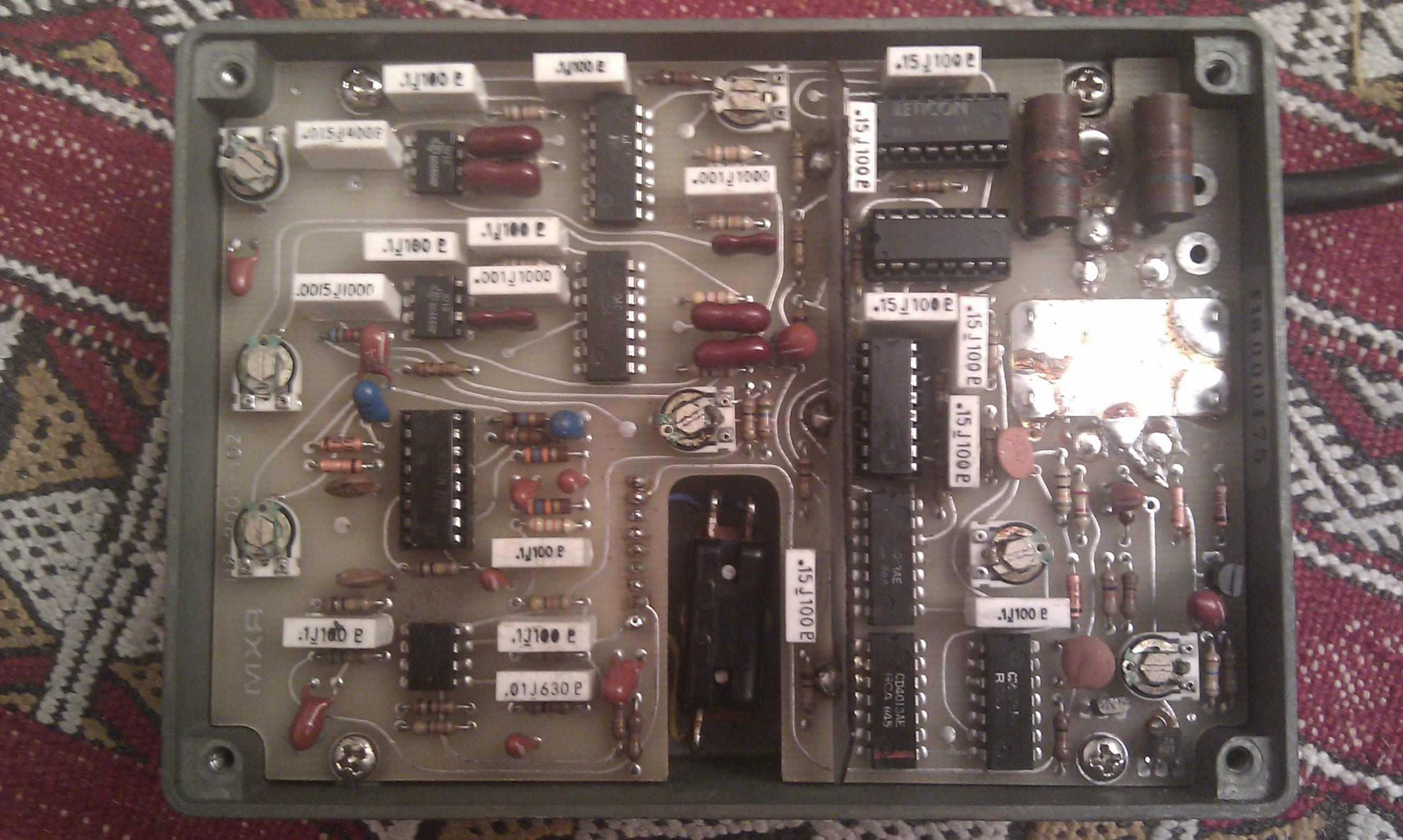 Vintage Mxr Analog Delay 112
