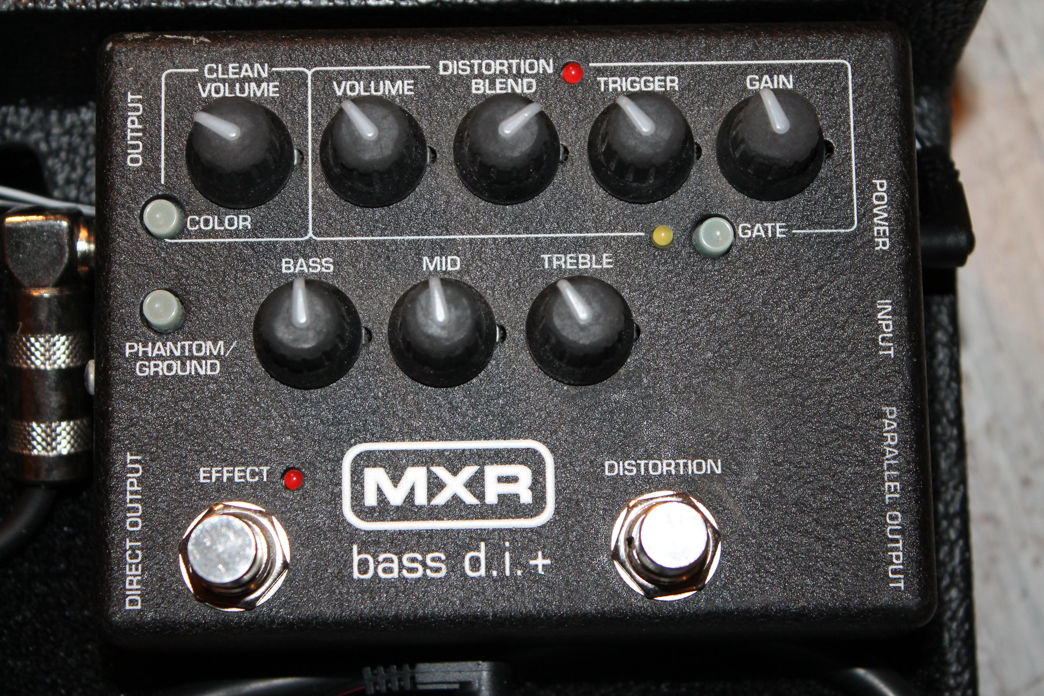 mxr m80 bass d i image 528395 audiofanzine. Black Bedroom Furniture Sets. Home Design Ideas