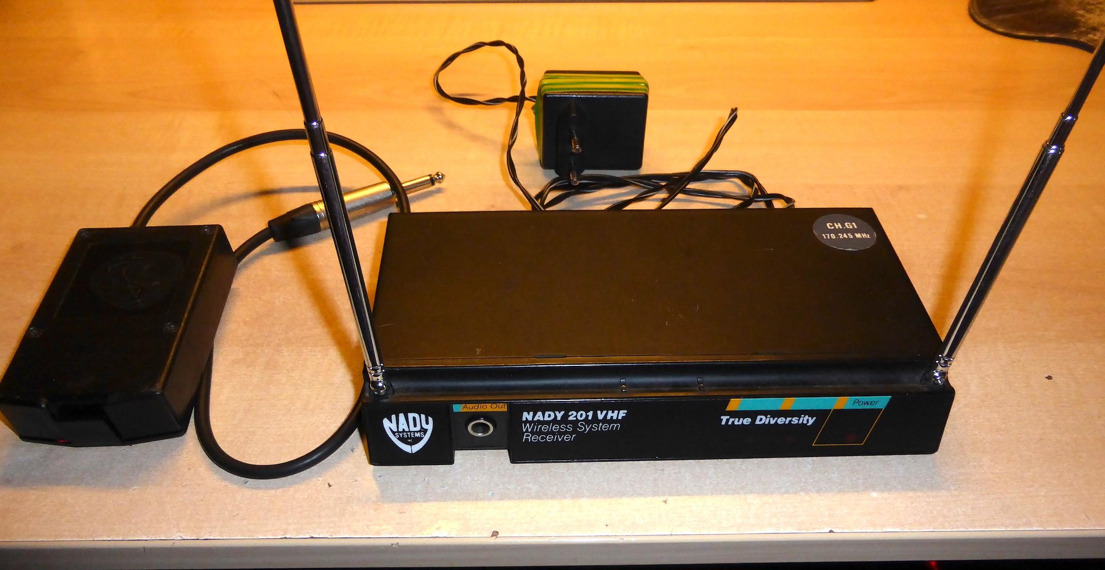 nady 201 vhf wireless system manual