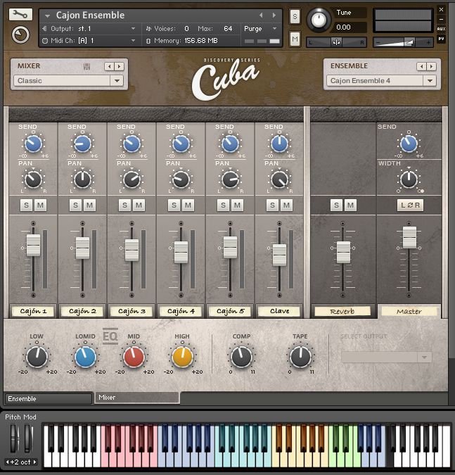 how to use native instruments cuba
