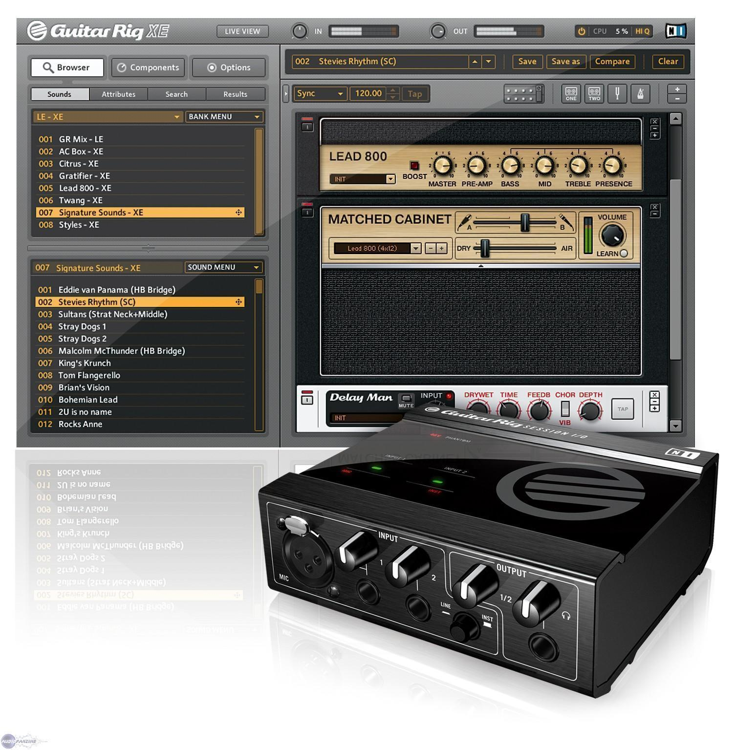 Native Instruments Guitar Rig 3.2.