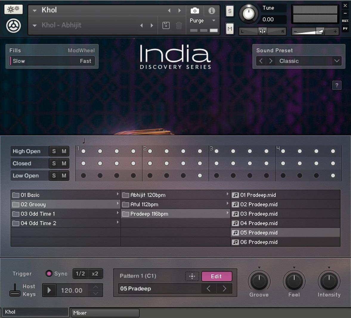 india native instruments india audiofanzine. Black Bedroom Furniture Sets. Home Design Ideas